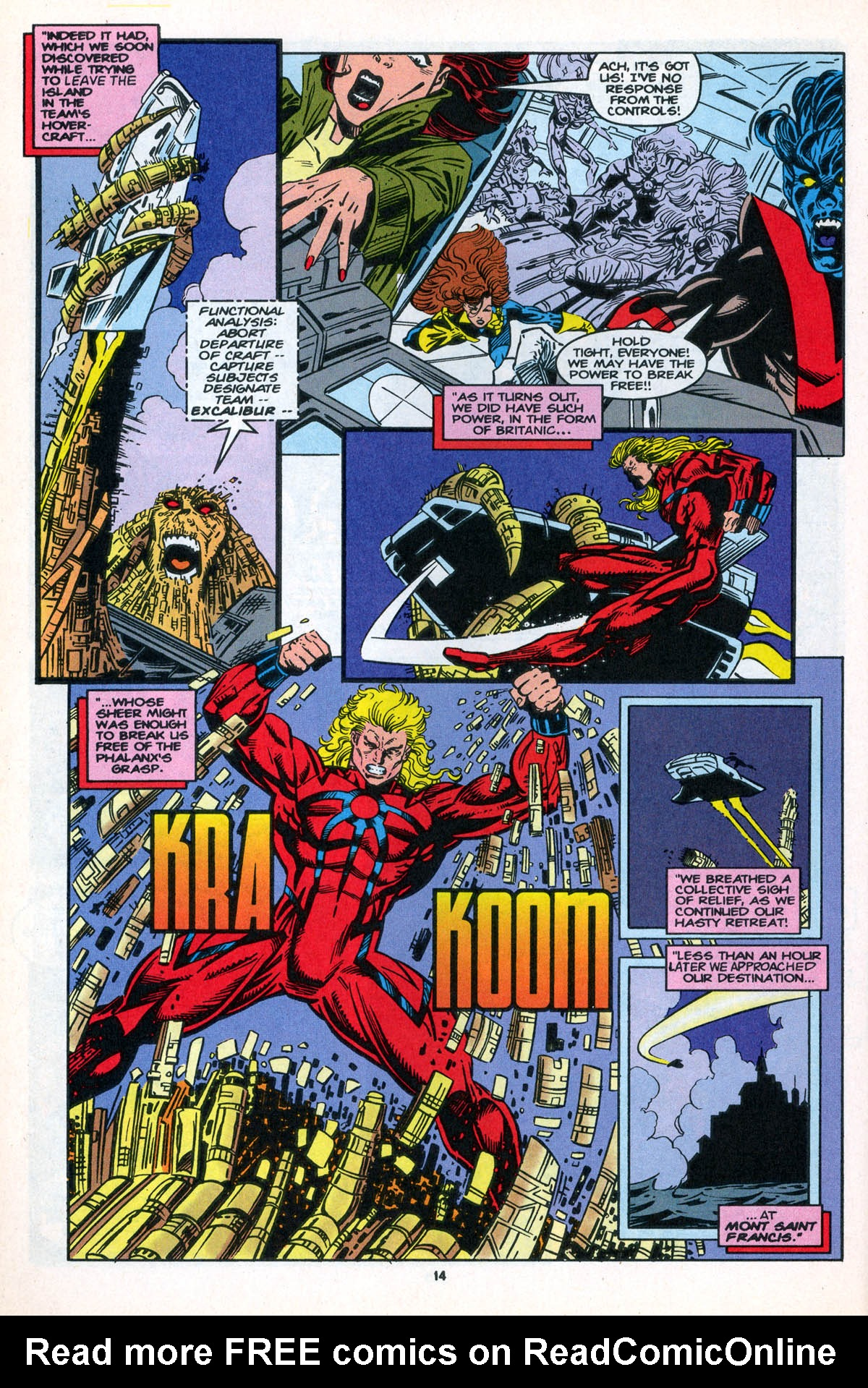 Read online X-Factor (1986) comic -  Issue #106 - 16