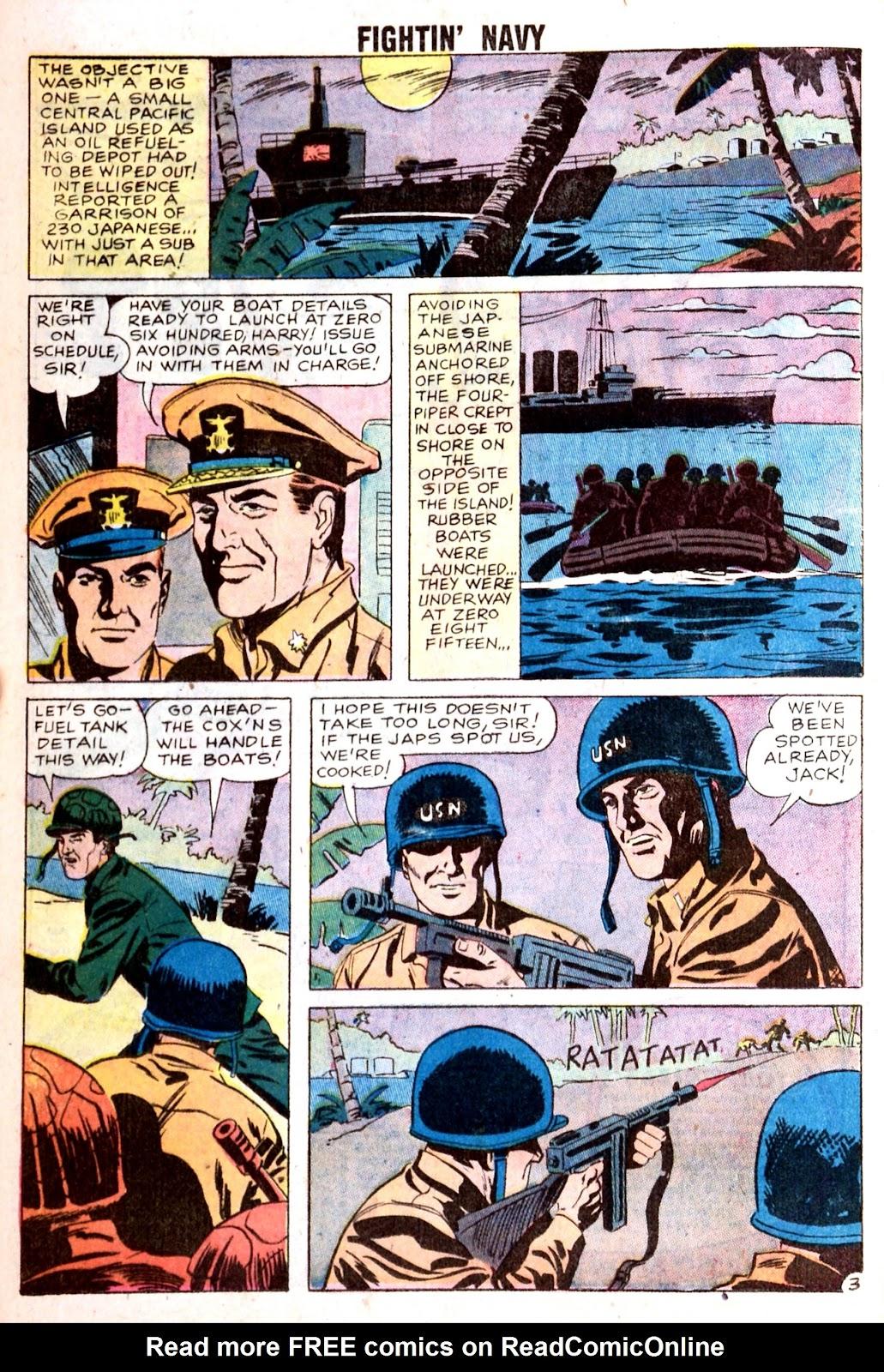 Read online Fightin' Navy comic -  Issue #85 - 16