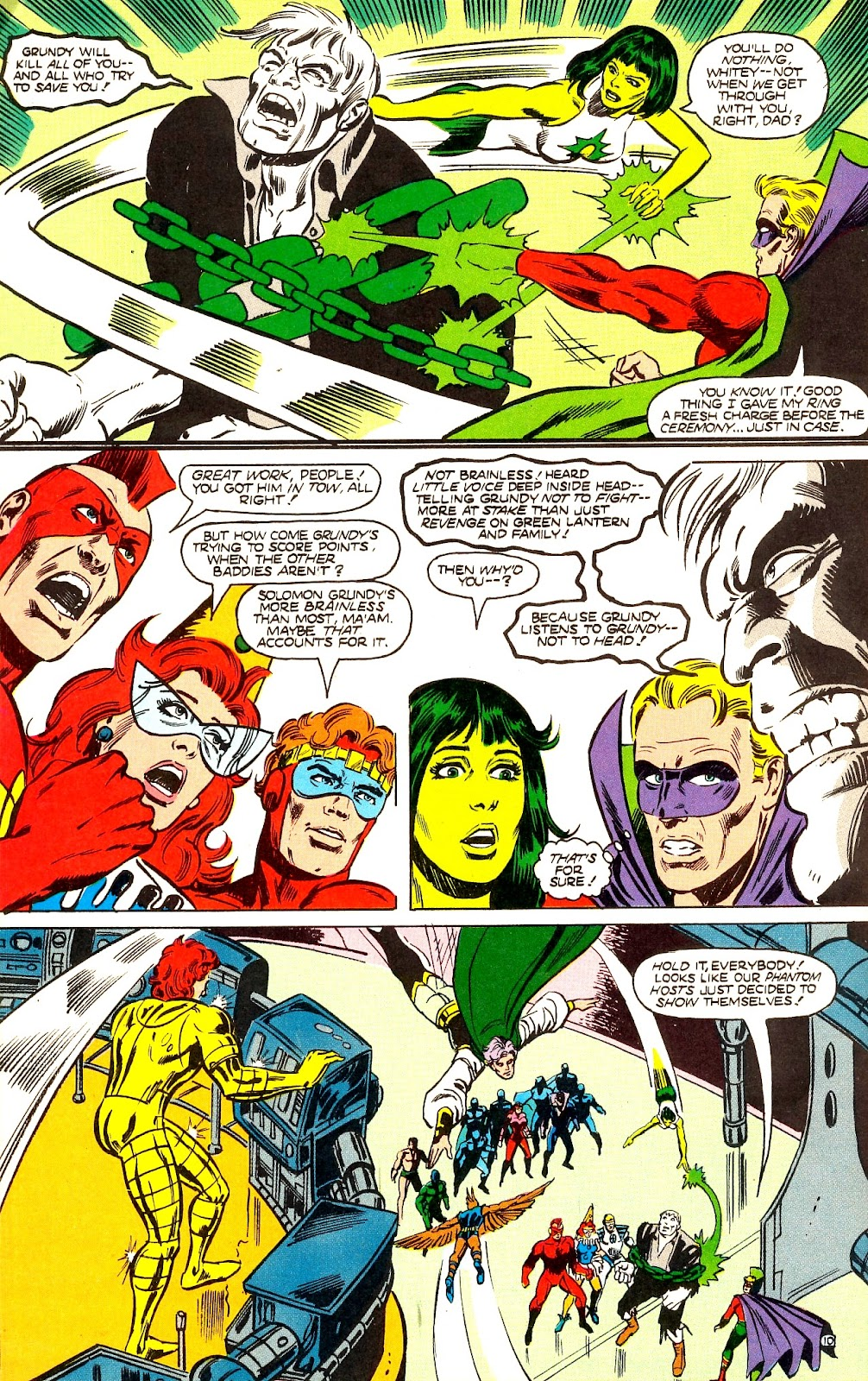 Infinity Inc. (1984) issue 22 - Page 12