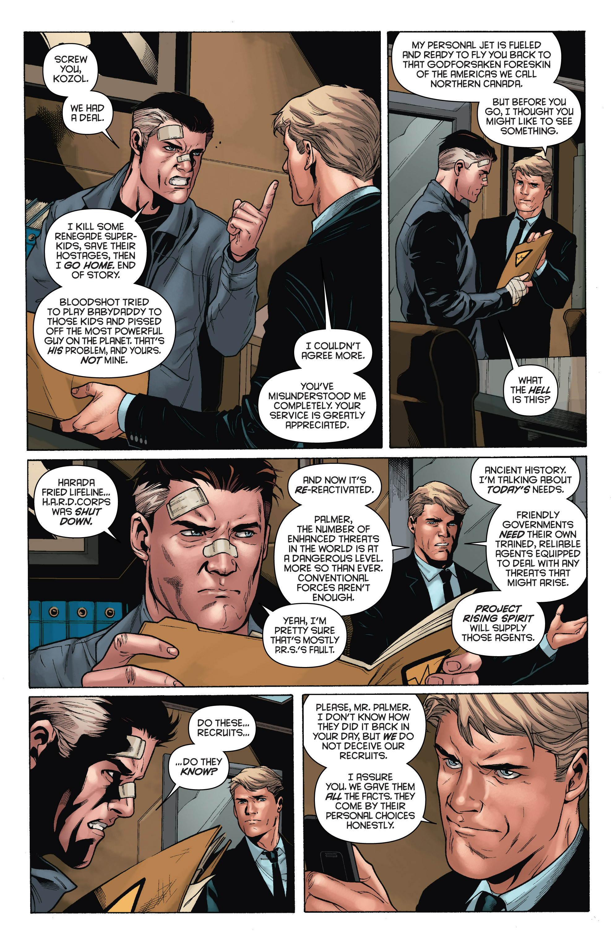 Read online Bloodshot and H.A.R.D.Corps comic -  Issue # TPB 4 - 12