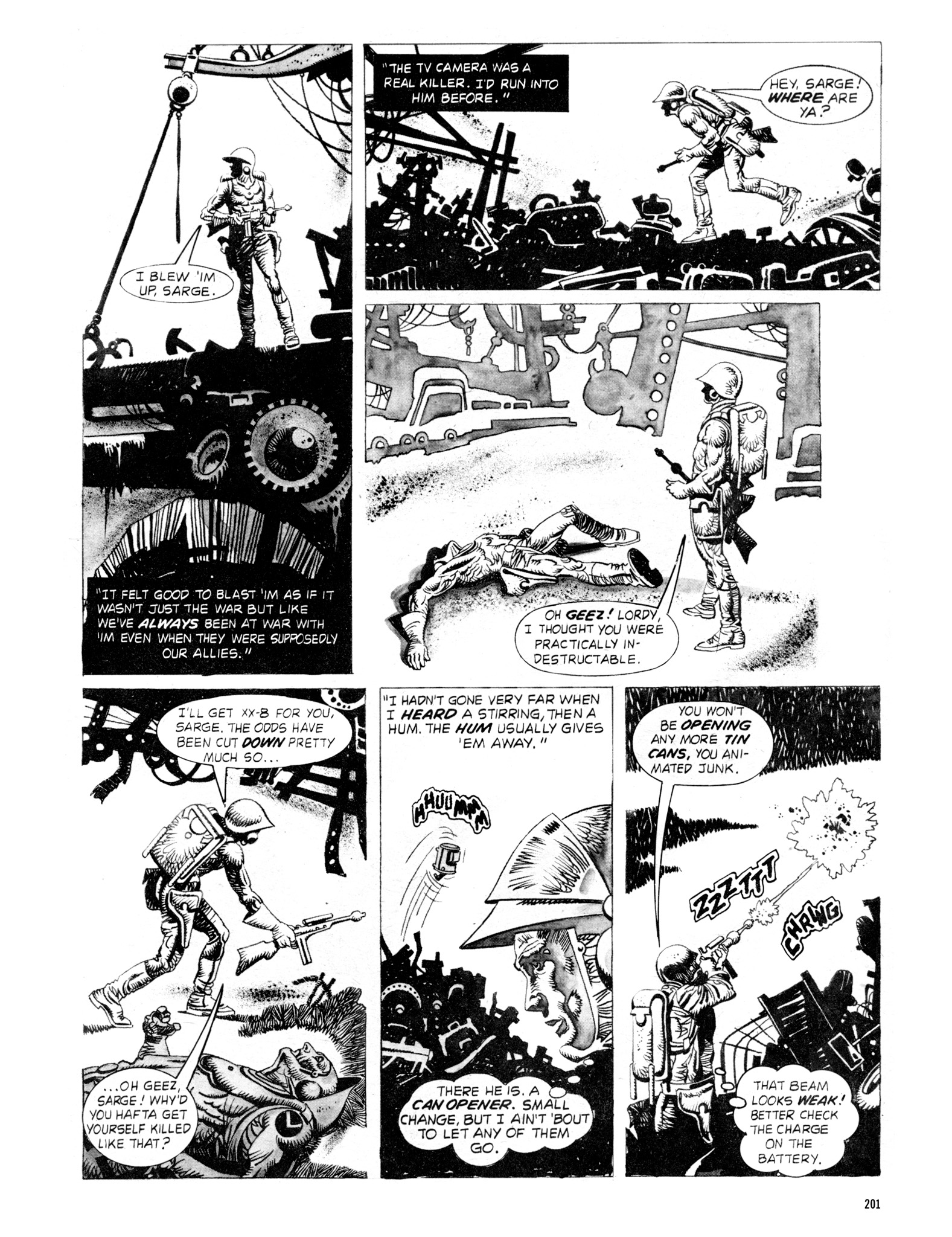 Read online Eerie Archives comic -  Issue # TPB 18 - 198