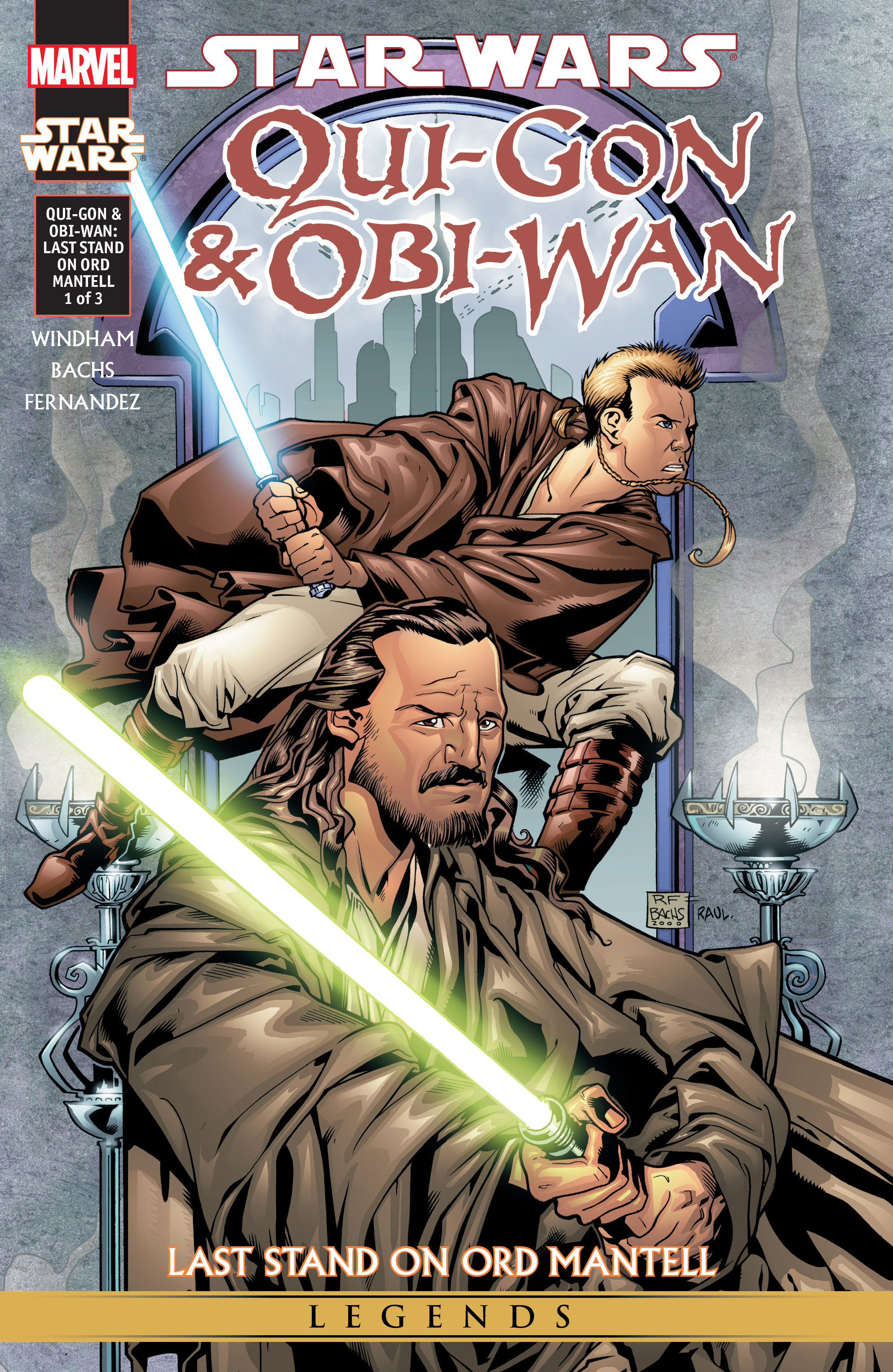 Read online Star Wars: Qui-Gon & Obi-Wan - Last Stand on Ord Mantell comic -  Issue #1 - 1