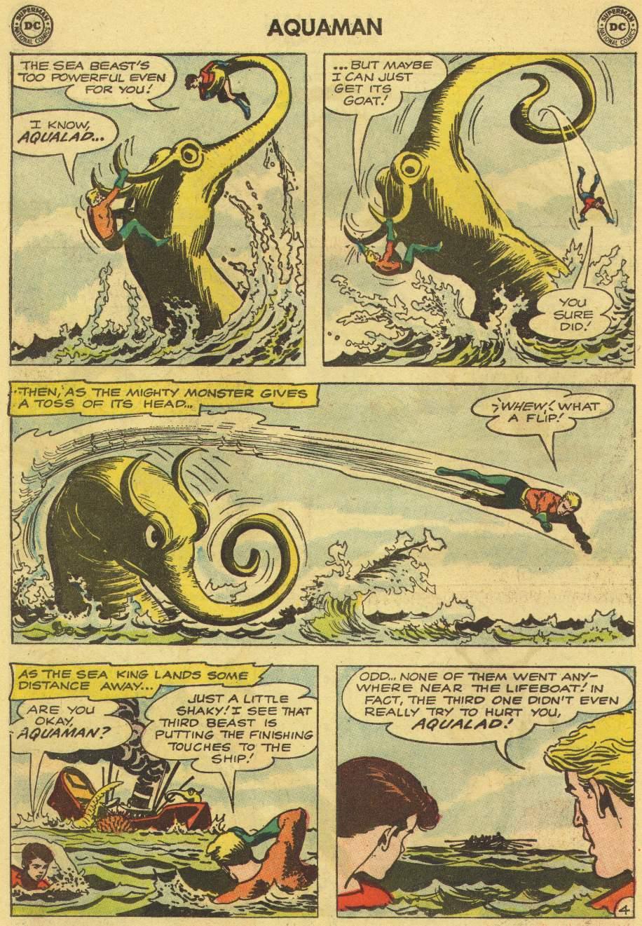 Read online Aquaman (1962) comic -  Issue #7 - 6
