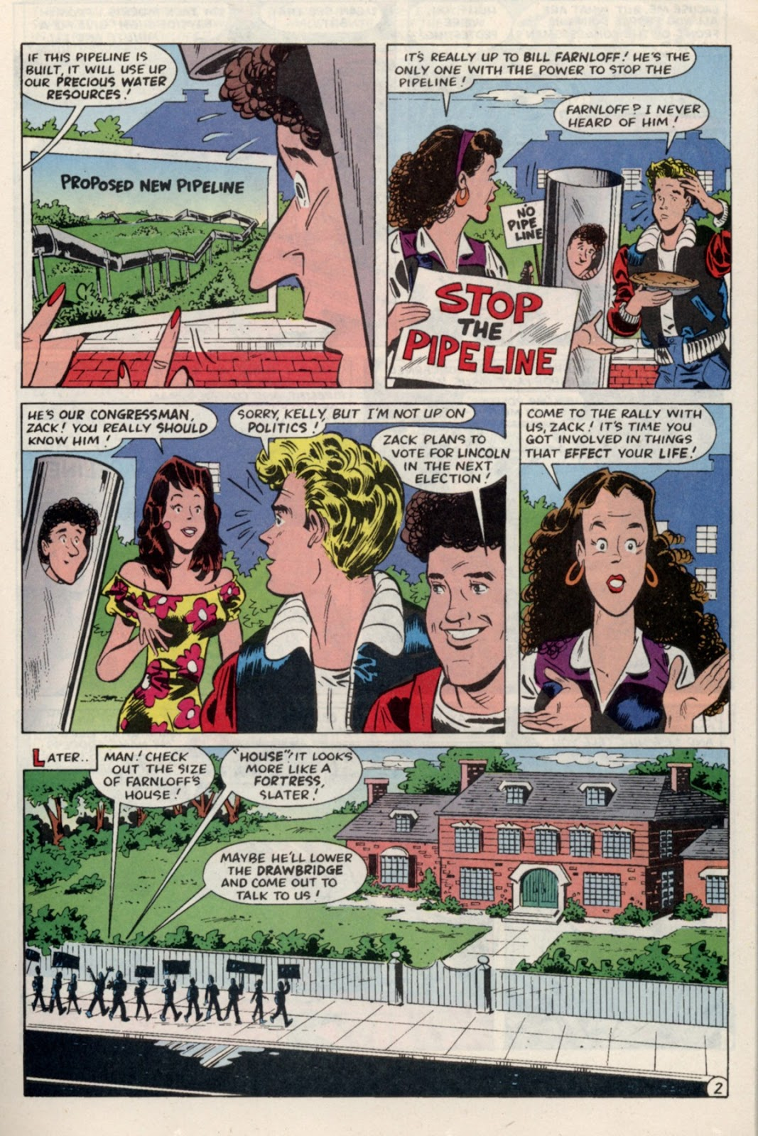 Read online Saved By The Bell comic -  Issue #4 - 5