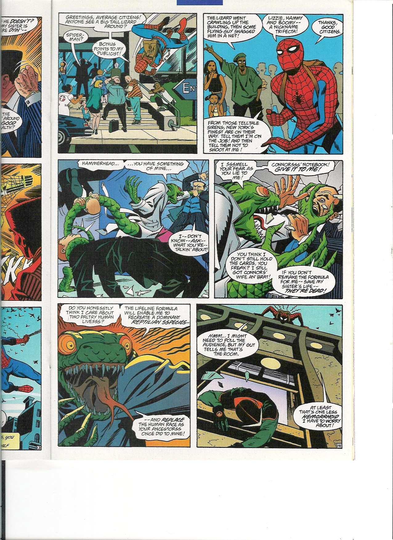 Read online Spider-Man: Lifeline comic -  Issue #3 - 15