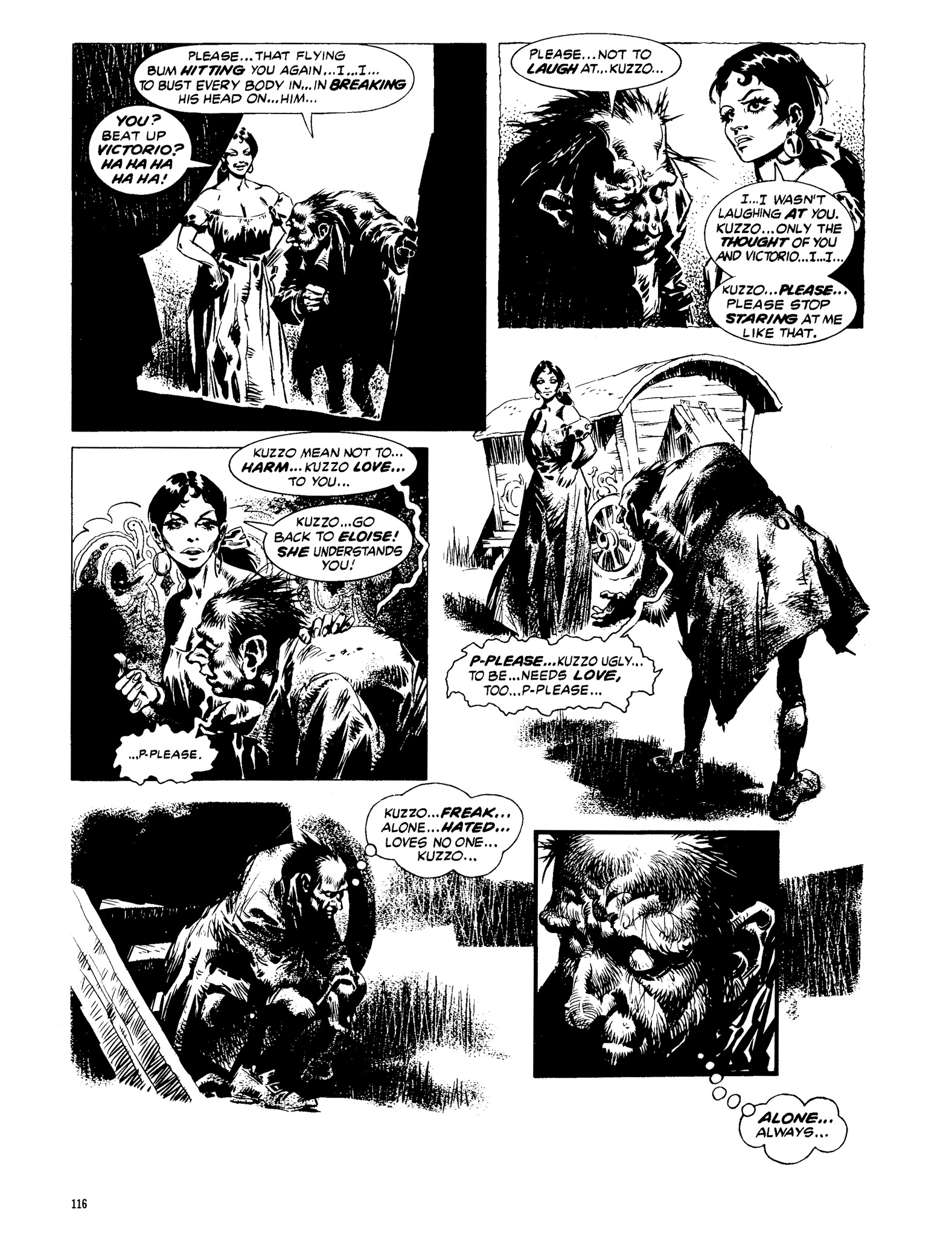 Read online Eerie Archives comic -  Issue # TPB 13 - 117