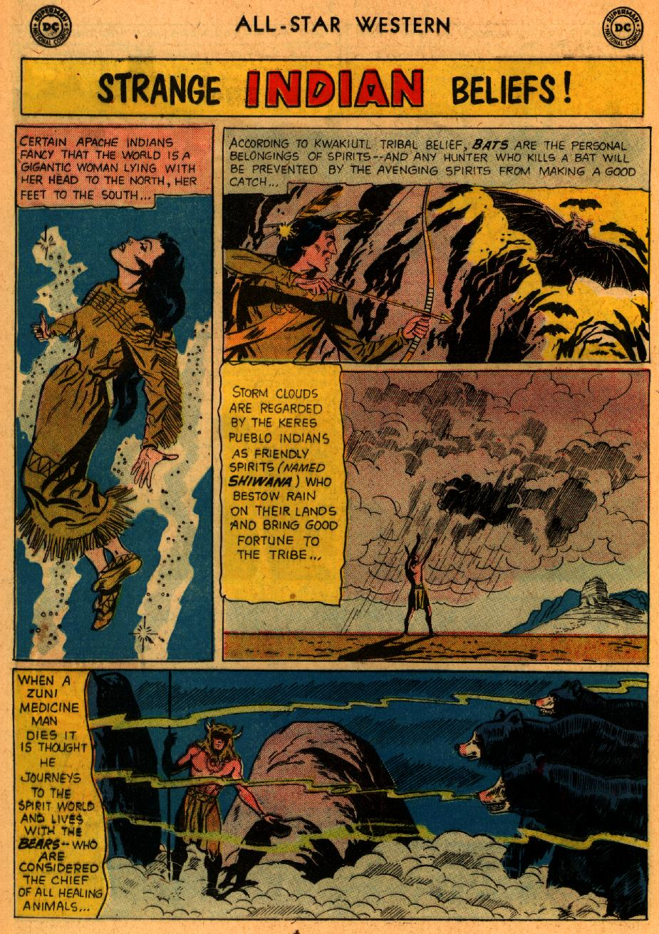 Read online All-Star Western (1951) comic -  Issue #107 - 23
