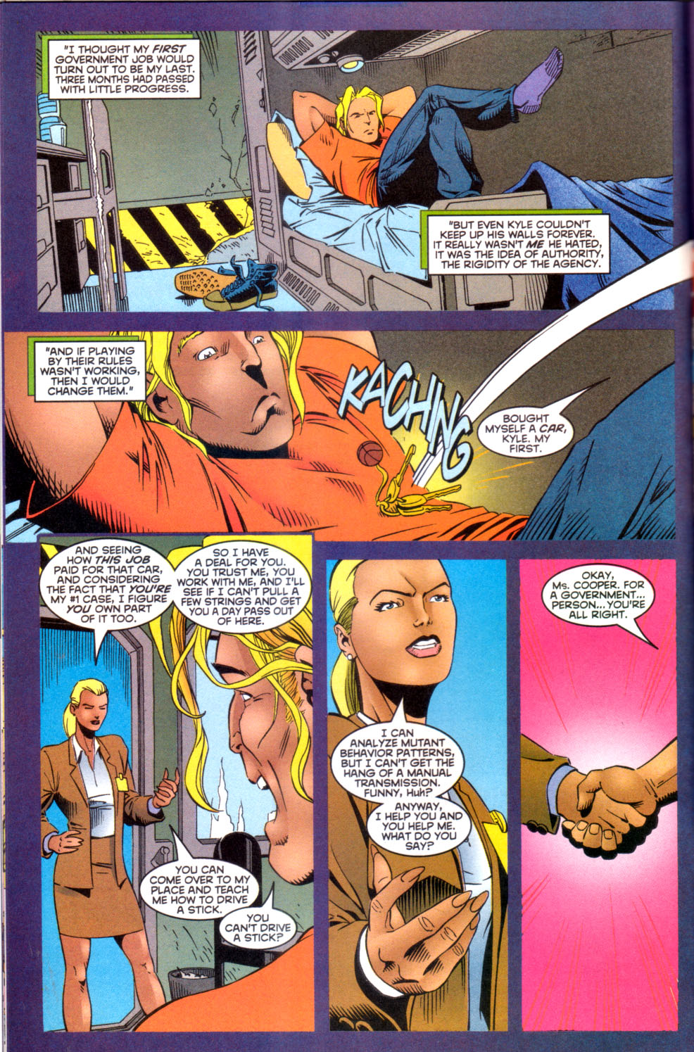 Read online X-Factor (1986) comic -  Issue #142 - 10