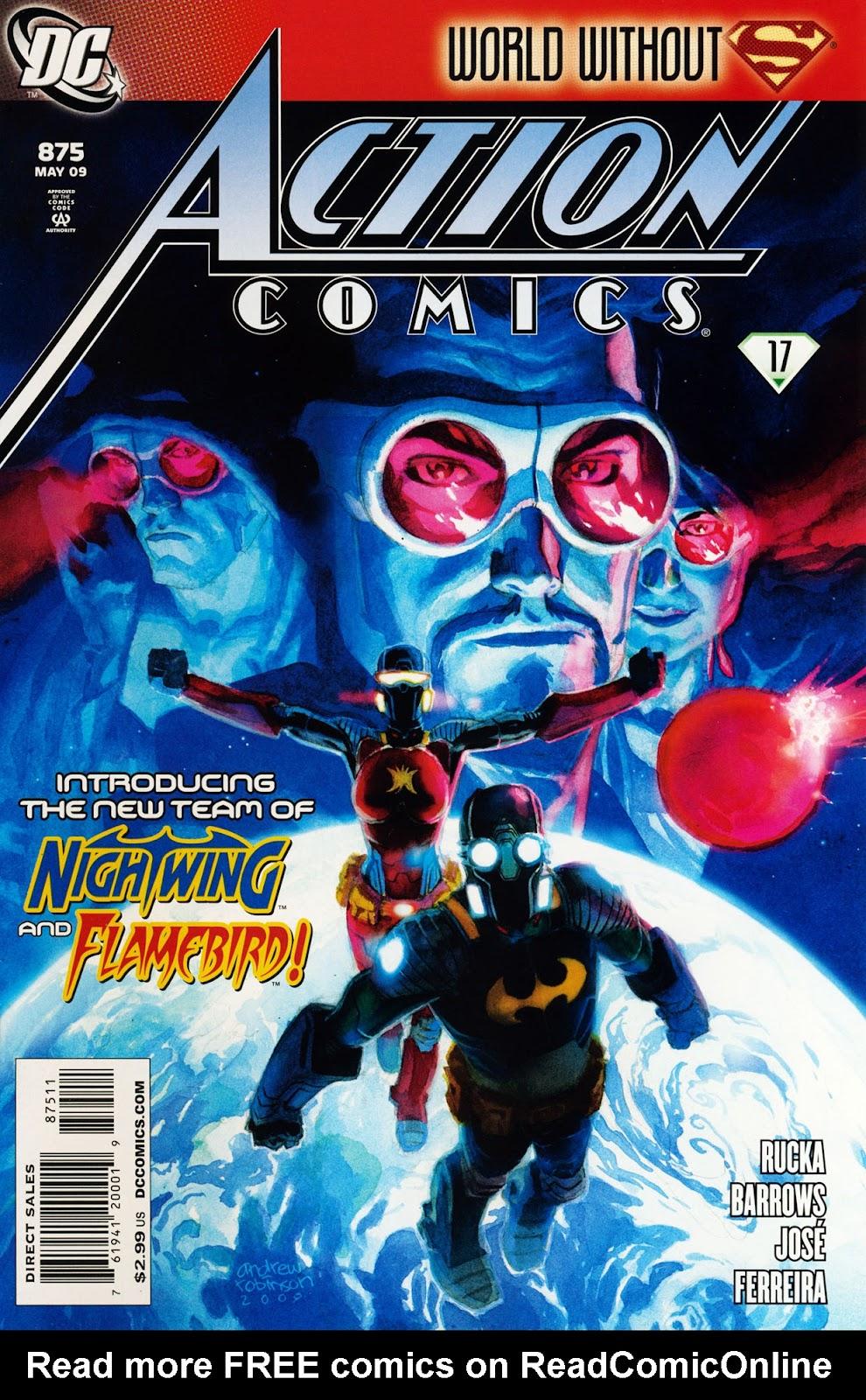 Action Comics (1938) 875 Page 1