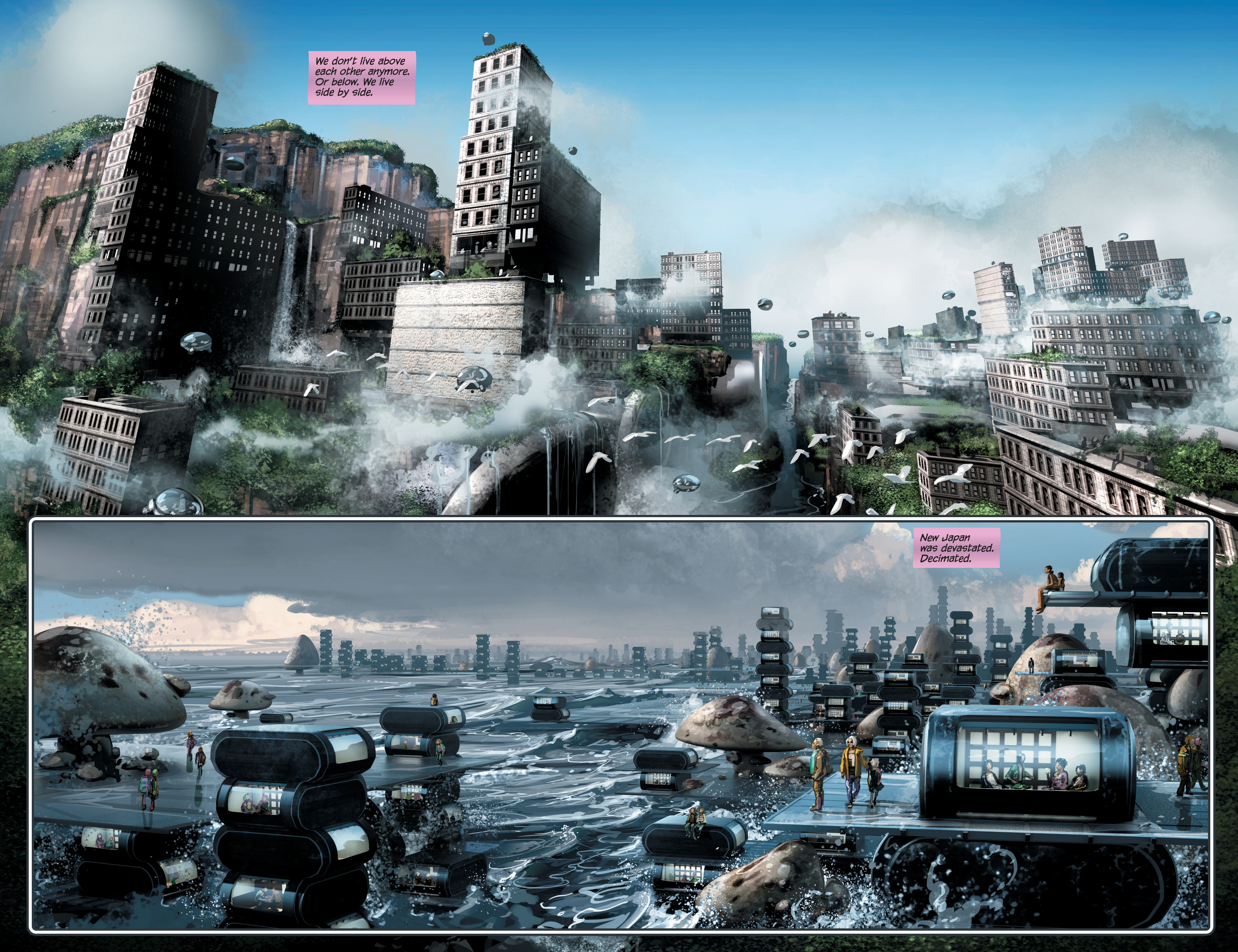 Read online 4001 A.D. comic -  Issue #4 - 13
