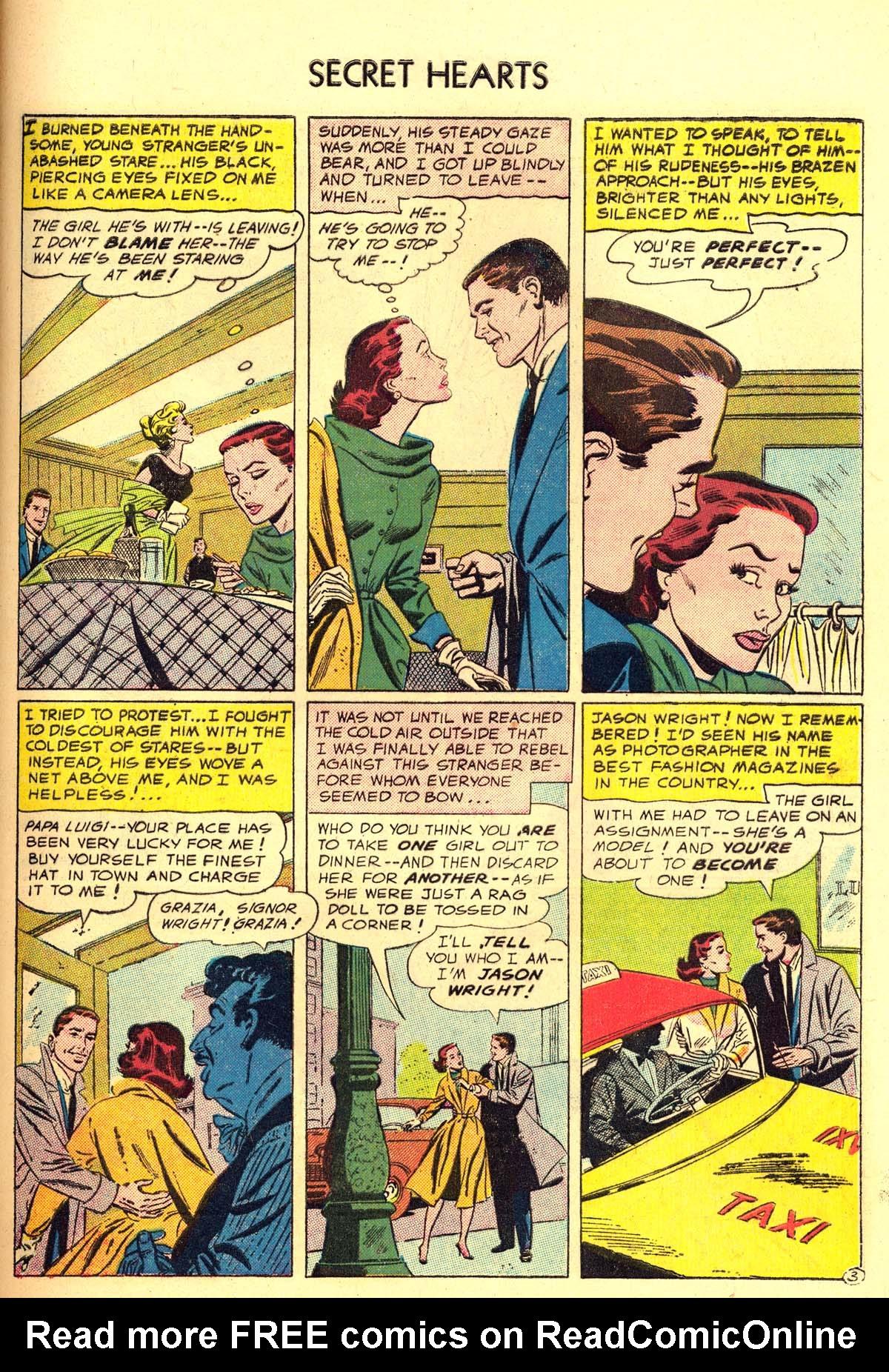 Read online Secret Hearts comic -  Issue #34 - 29