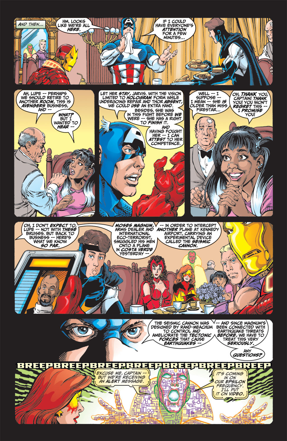 Read online Avengers (1998) comic -  Issue #9 - 6