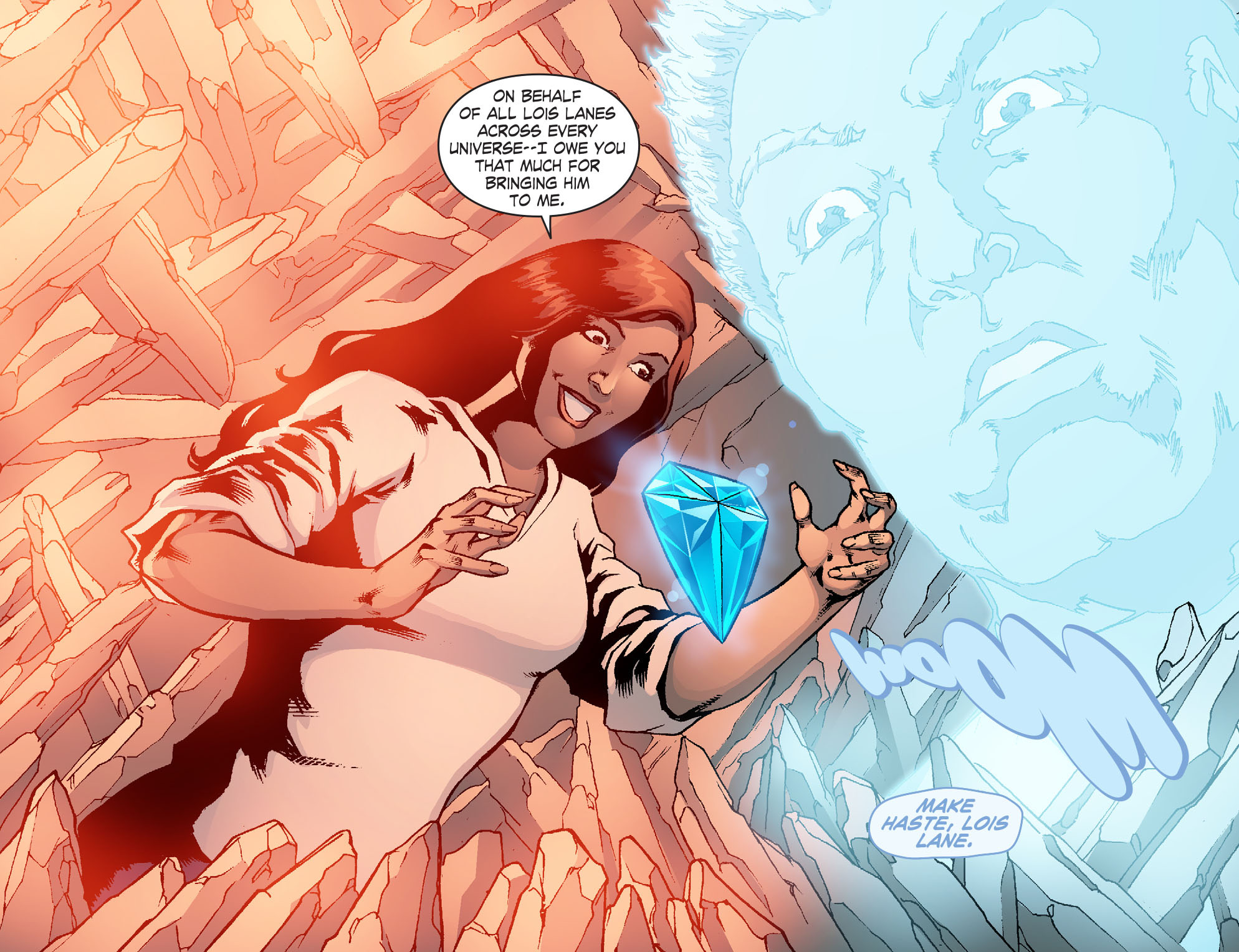 Read online Smallville: Chaos [II] comic -  Issue #6 - 16