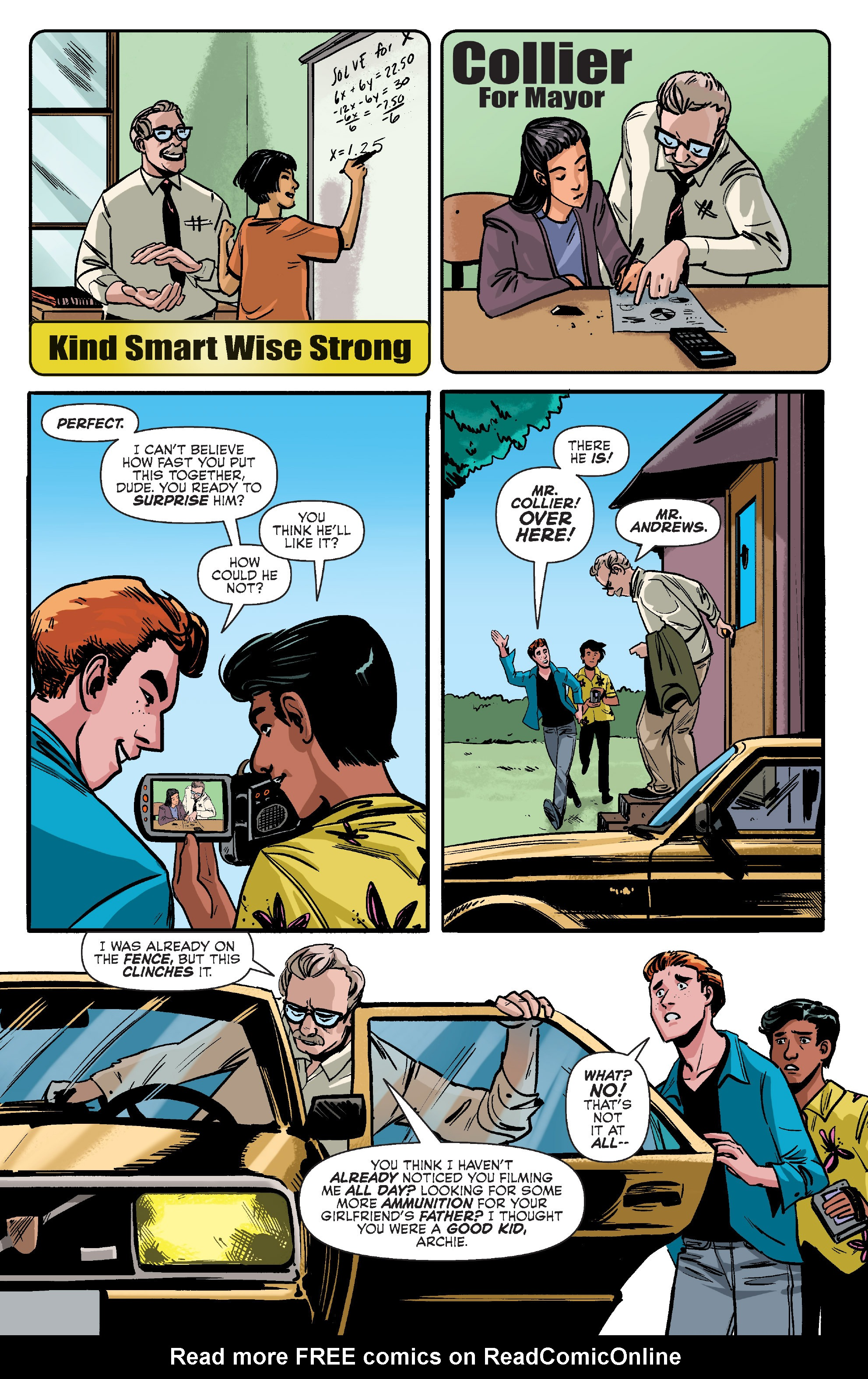 Read online Archie (2015) comic -  Issue #10 - 18