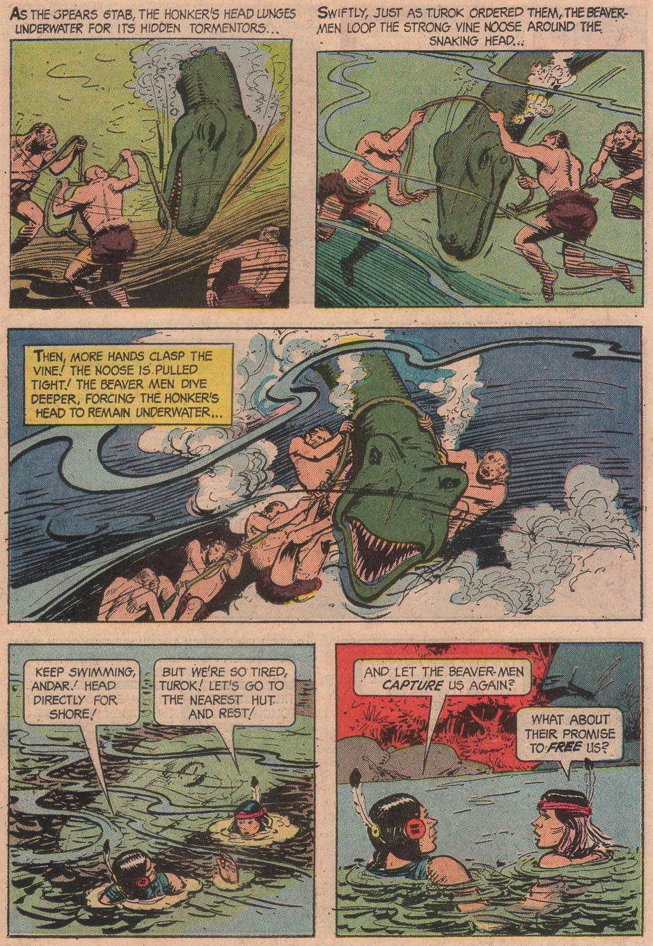 Read online Turok, Son of Stone comic -  Issue #51 - 15