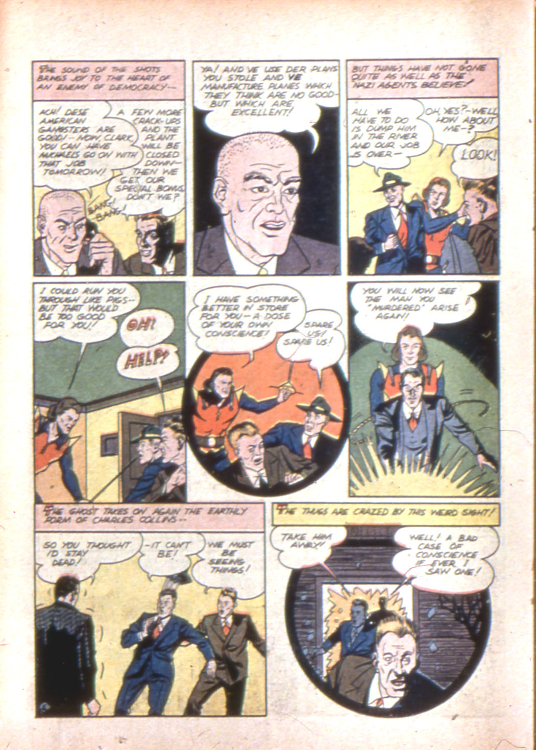 Read online Sensation (Mystery) Comics comic -  Issue #7 - 42