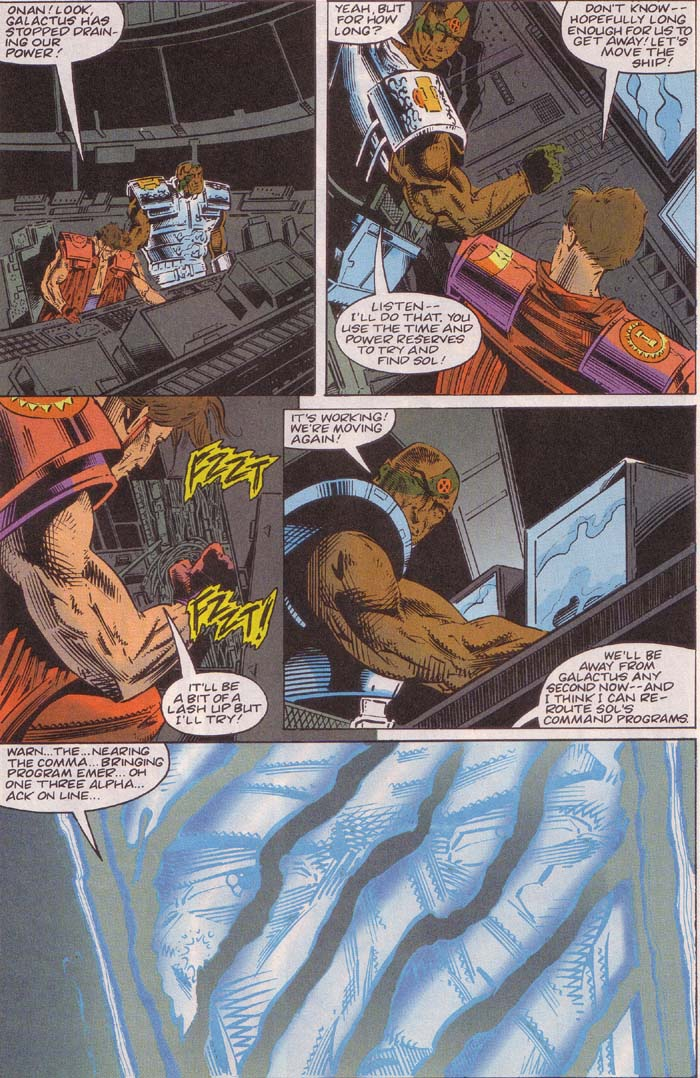 Read online Cyberspace 3000 comic -  Issue #3 - 17