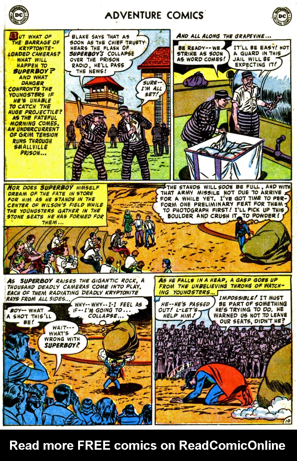 Read online Adventure Comics (1938) comic -  Issue #184 - 12