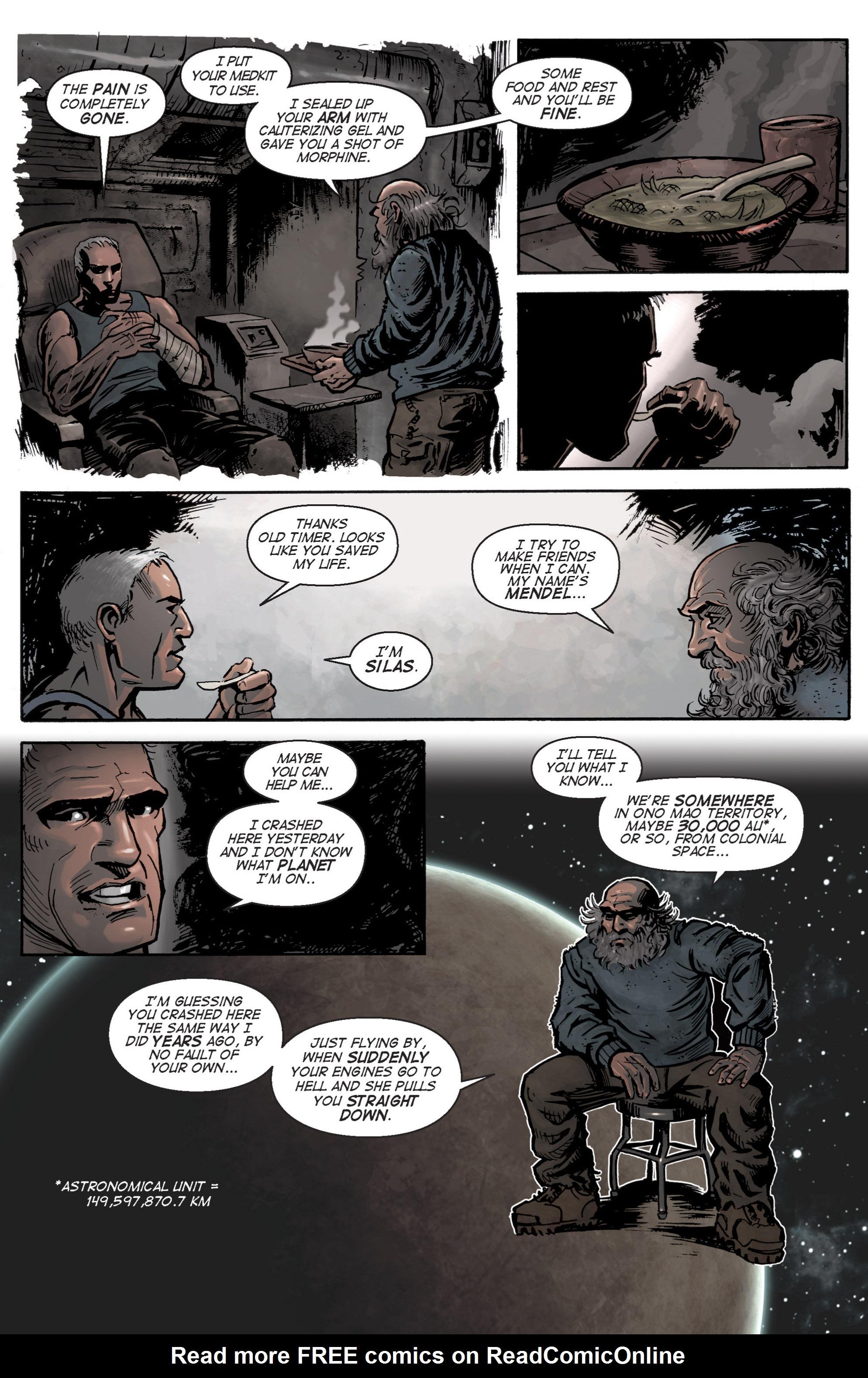 Read online Planetoid comic -  Issue # TPB - 32