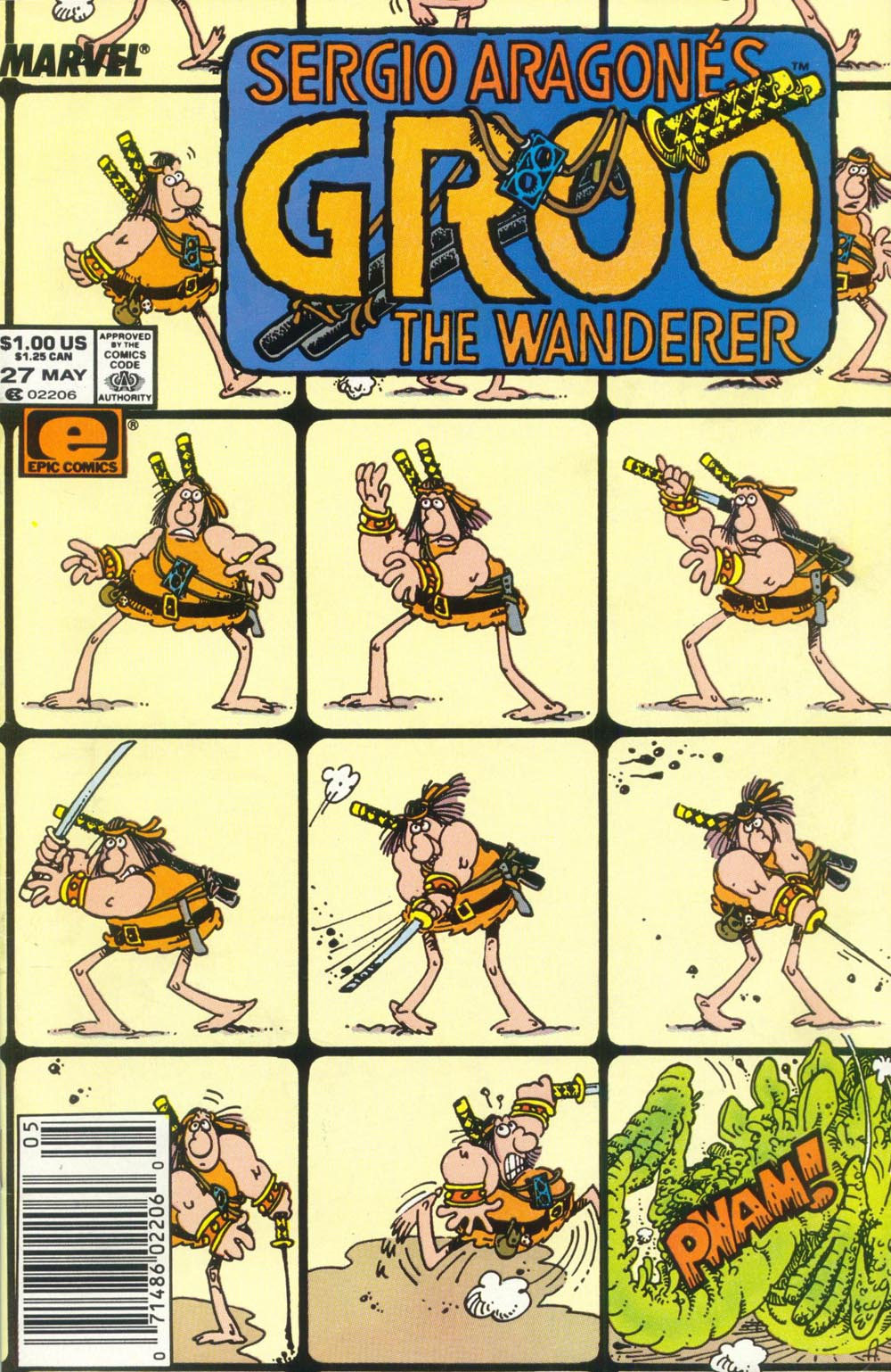 Read online Sergio Aragonés Groo the Wanderer comic -  Issue #27 - 1