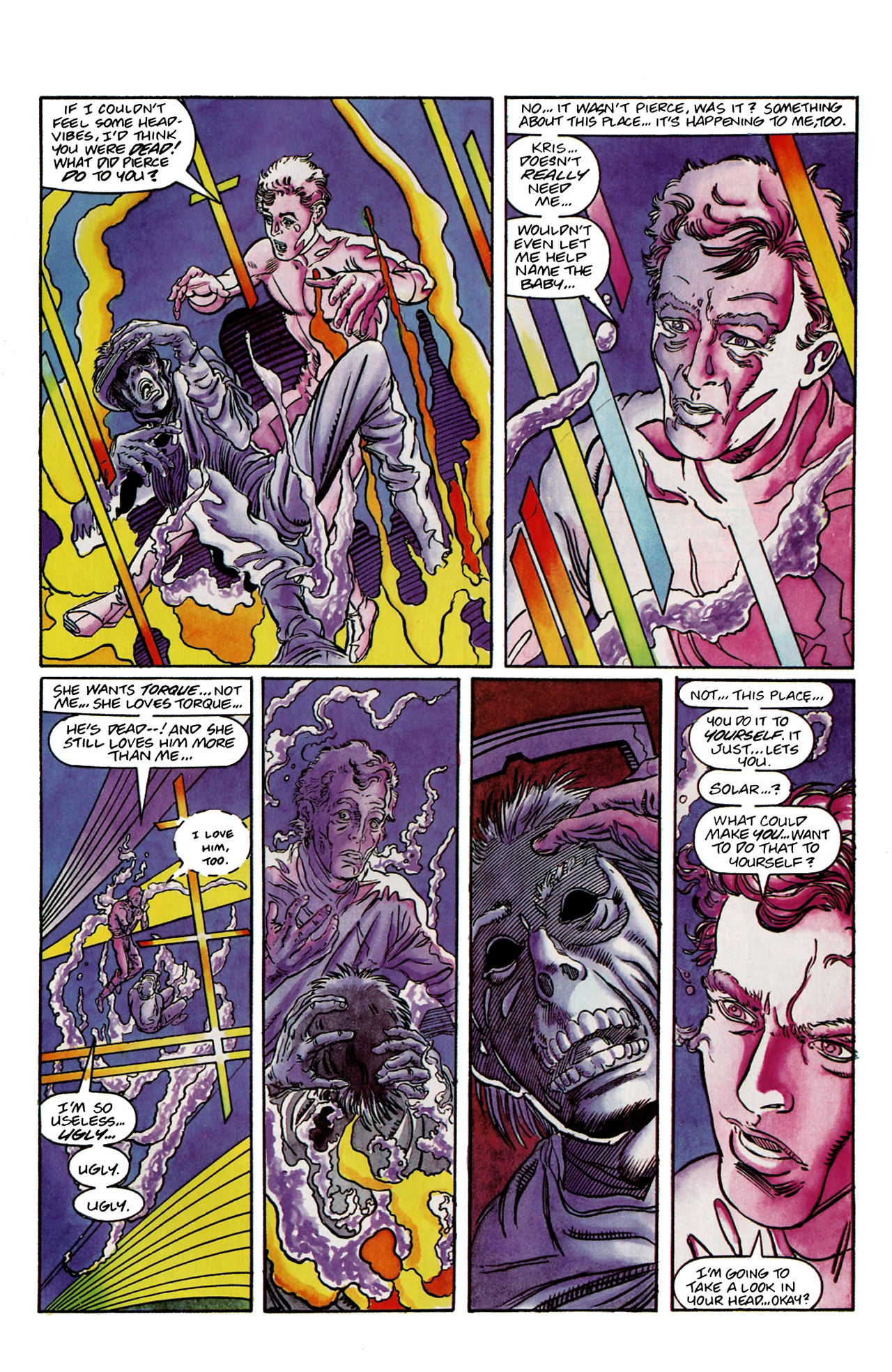 Read online Harbinger (1992) comic -  Issue #9 - 15