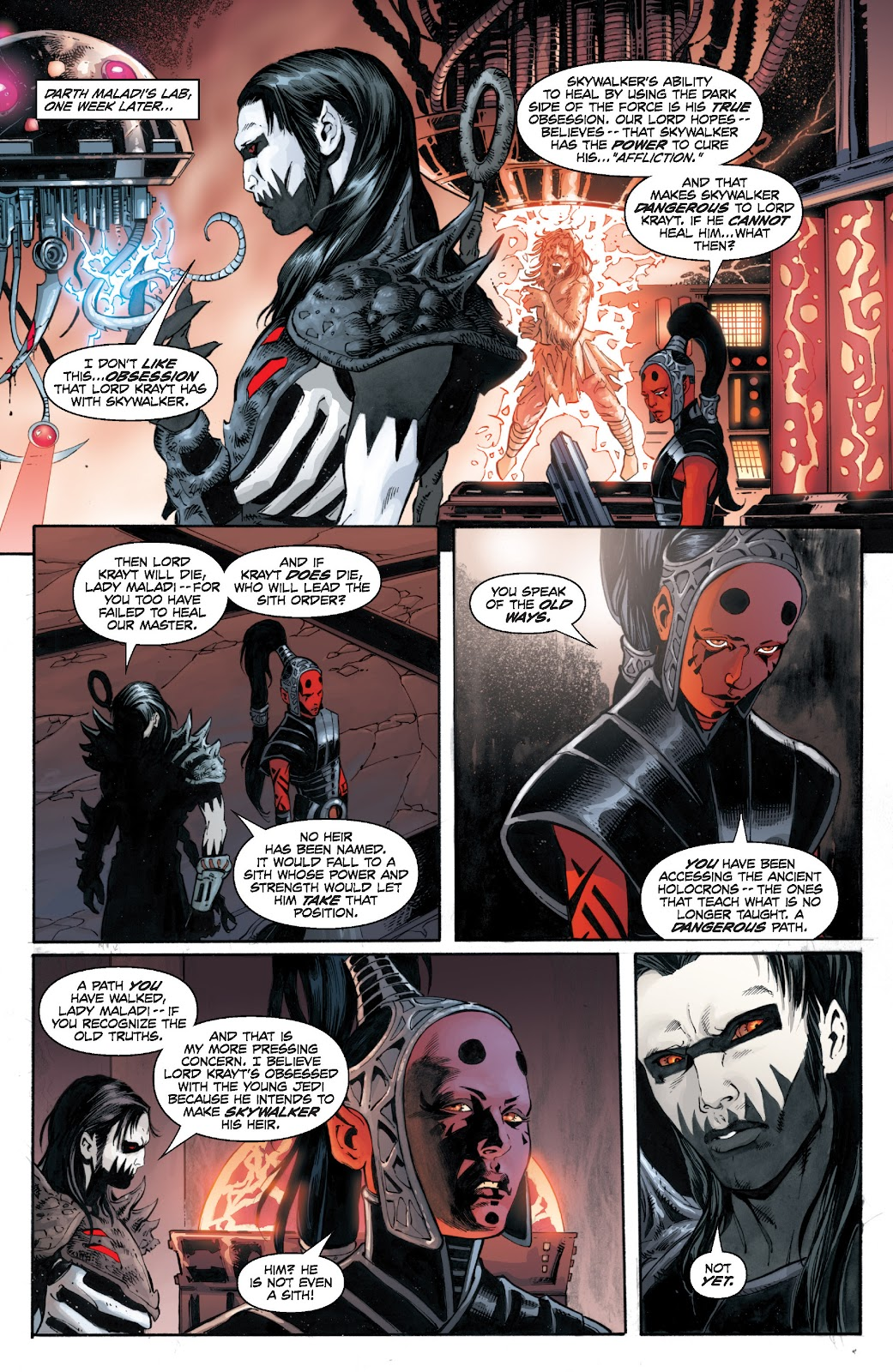 Read online Star Wars Legends: Legacy - Epic Collection comic -  Issue # TPB 1 (Part 4) - 93