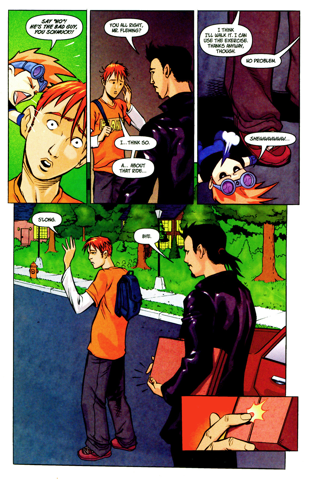 Read online SpyBoy: Final Exam comic -  Issue #2 - 8