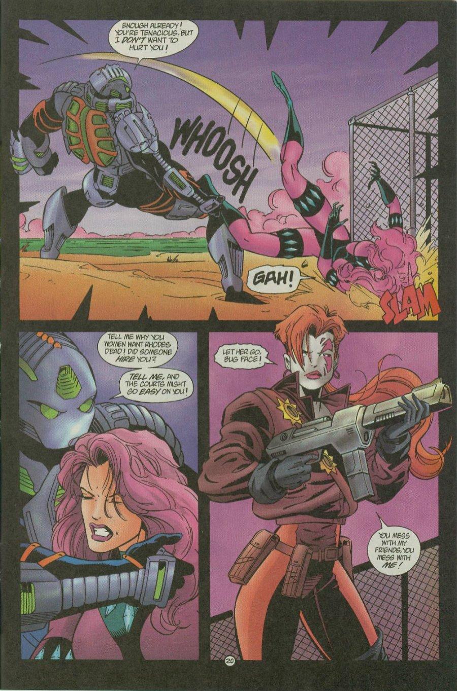 Read online Siren comic -  Issue #1 - 22