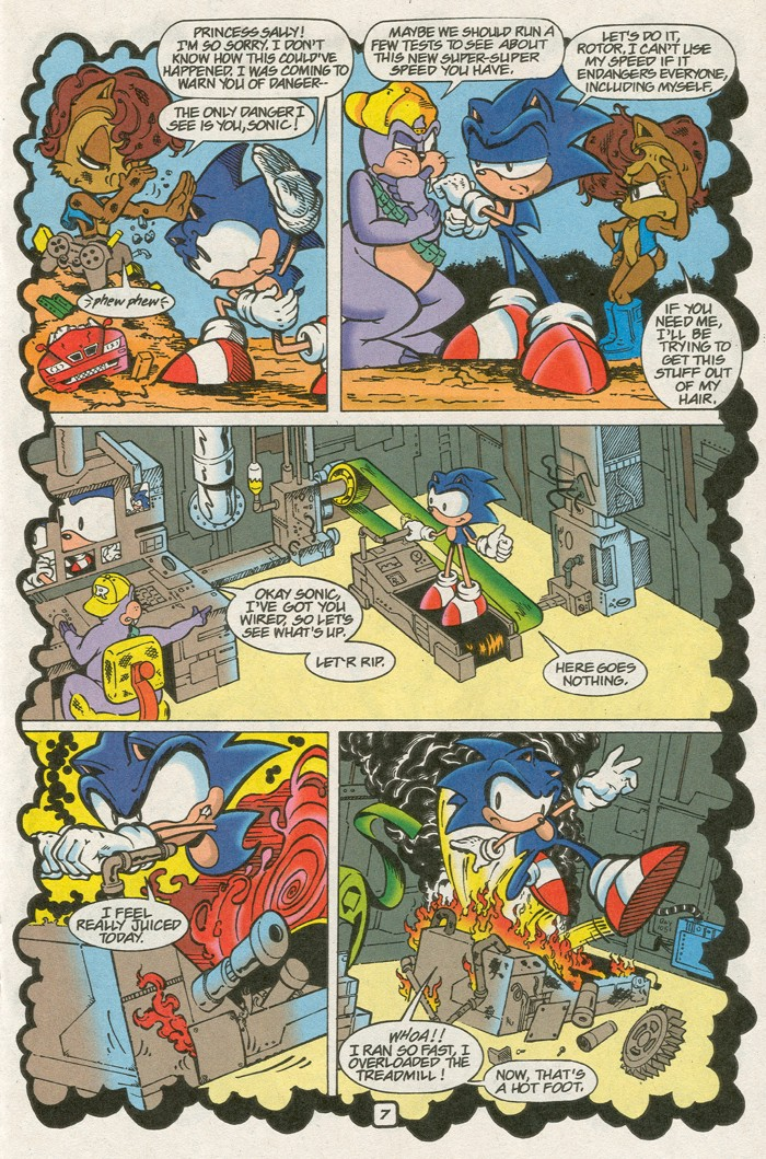 Read online Sonic Super Special comic -  Issue #8 - Giant special - 18