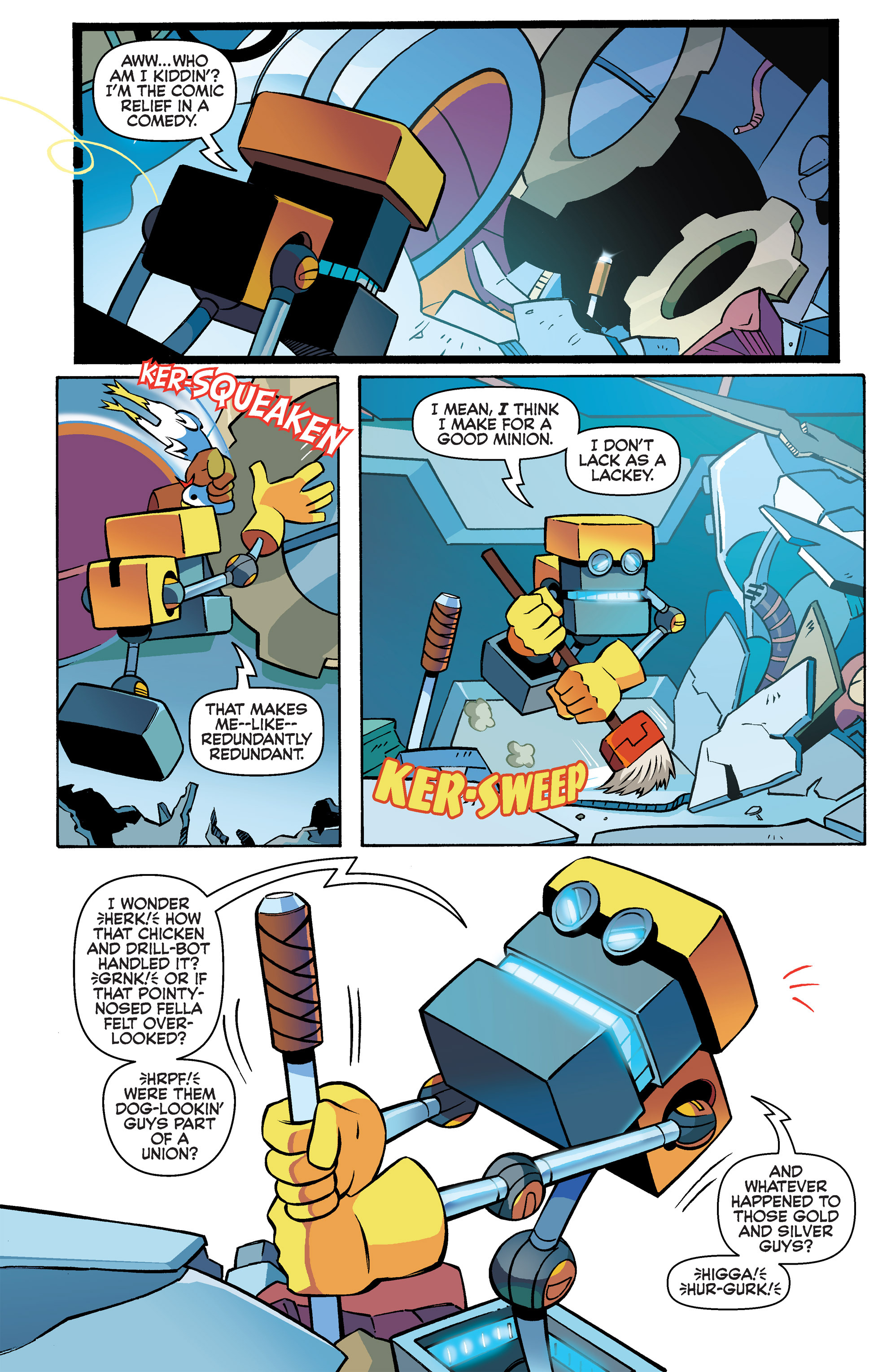 Read online Sonic Boom comic -  Issue #3 - 10