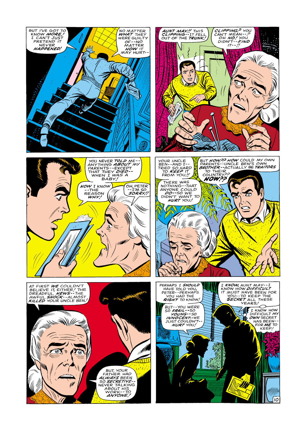 The Amazing Spider-Man (1963) _Annual_5 Page 10