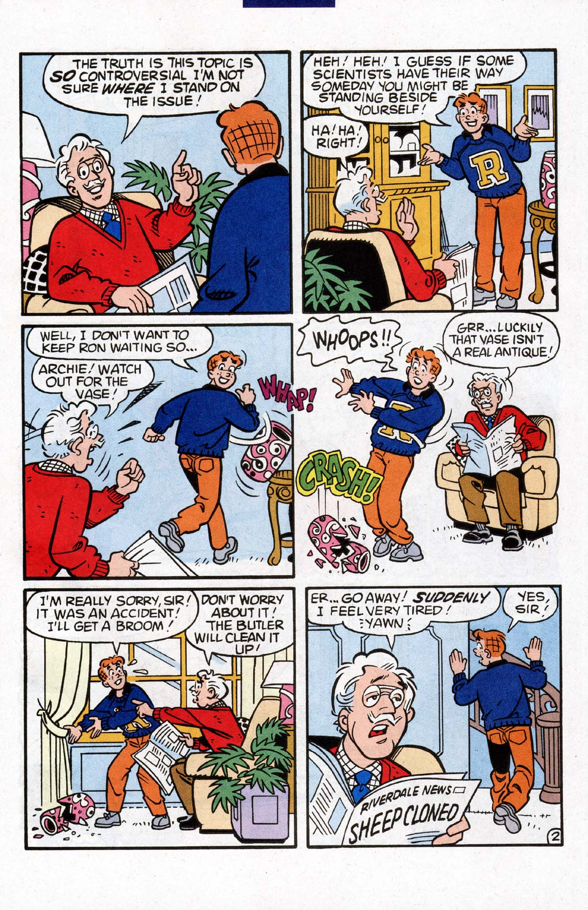 Read online Archie (1960) comic -  Issue #528 - 23