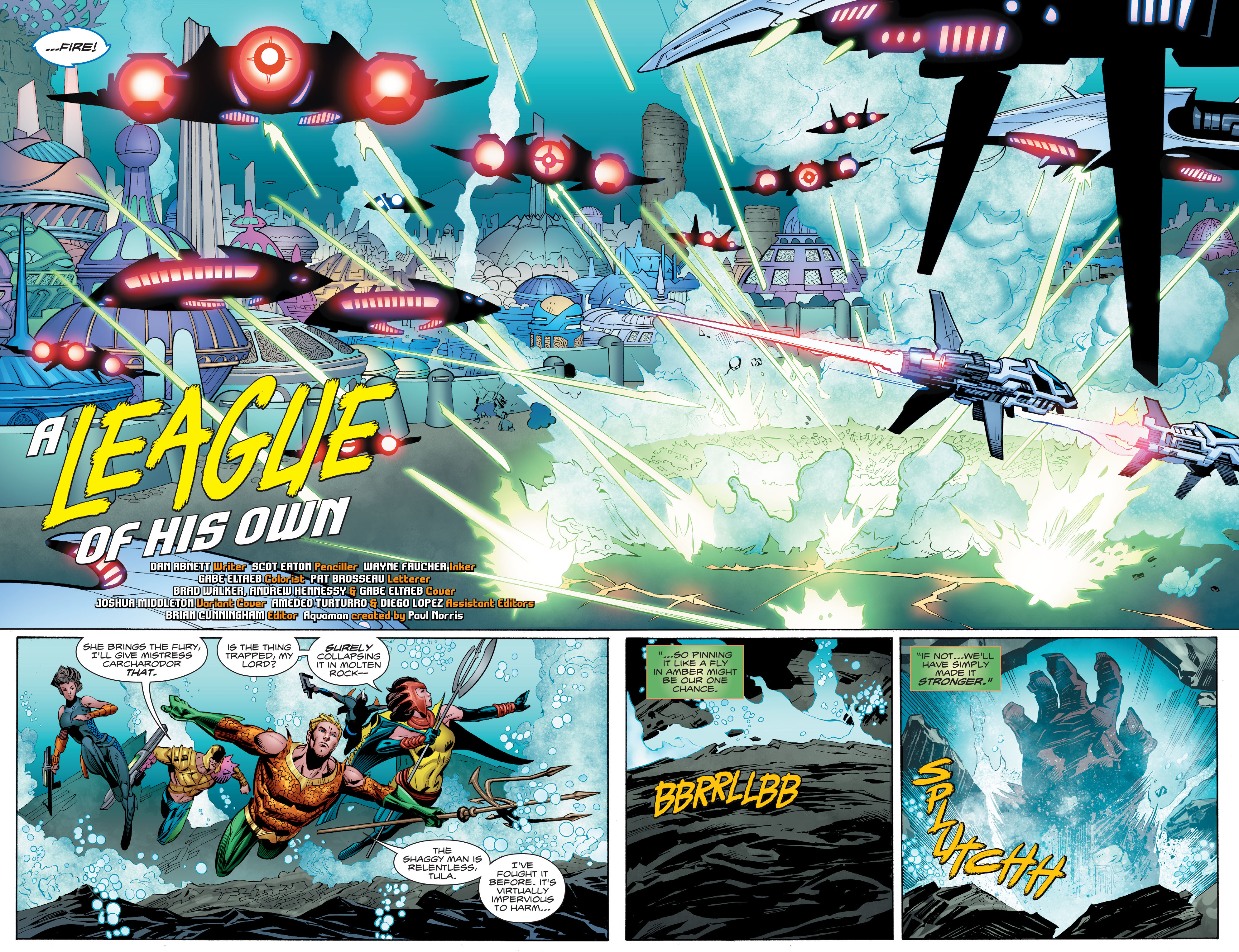 Read online Aquaman (2016) comic -  Issue #9 - 5