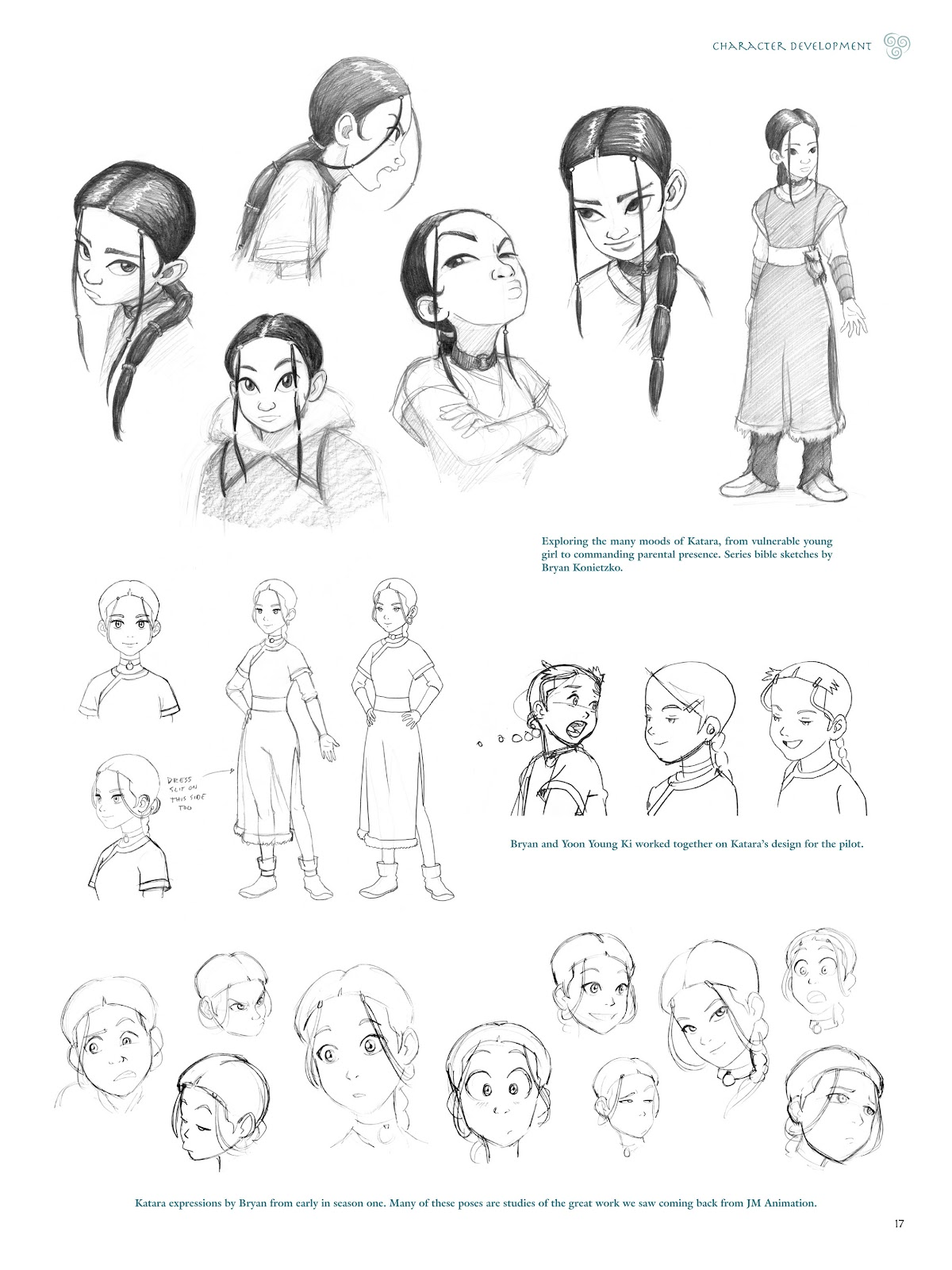 Read online Avatar: The Last Airbender - The Art of the Animated Series comic -  Issue # TPB (Part 1) - 20