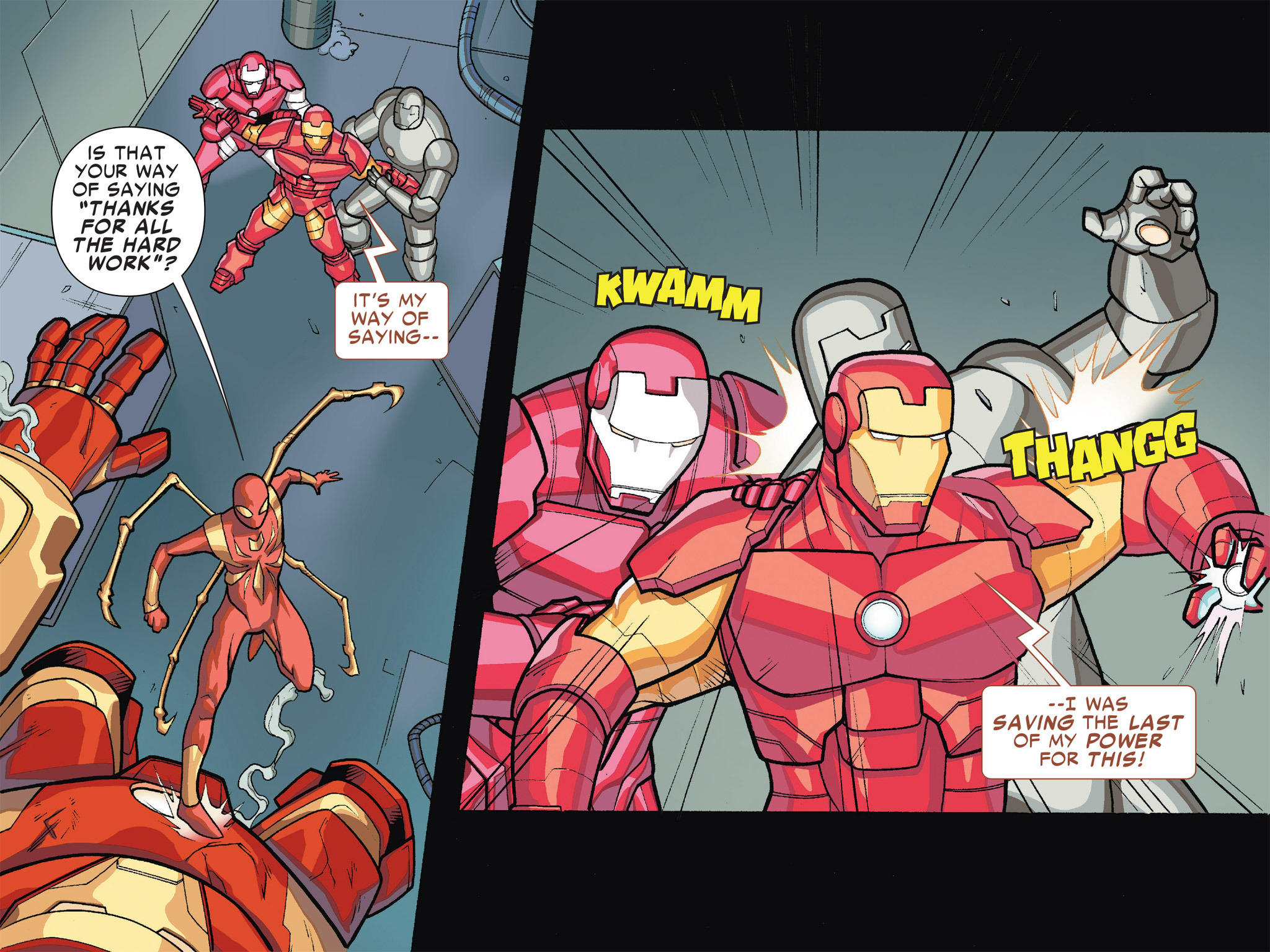 Read online Ultimate Spider-Man (Infinite Comics) (2016) comic -  Issue #5 - 11