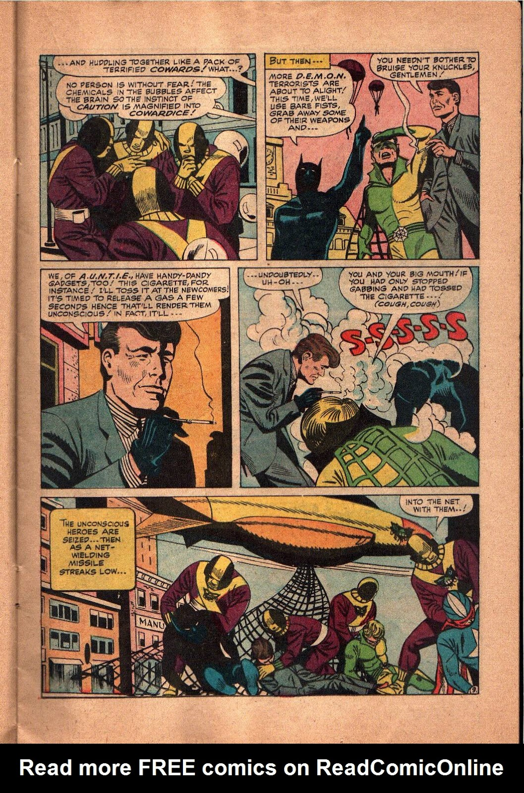 The Mighty Crusaders (1965) Issue #5 #5 - English 10