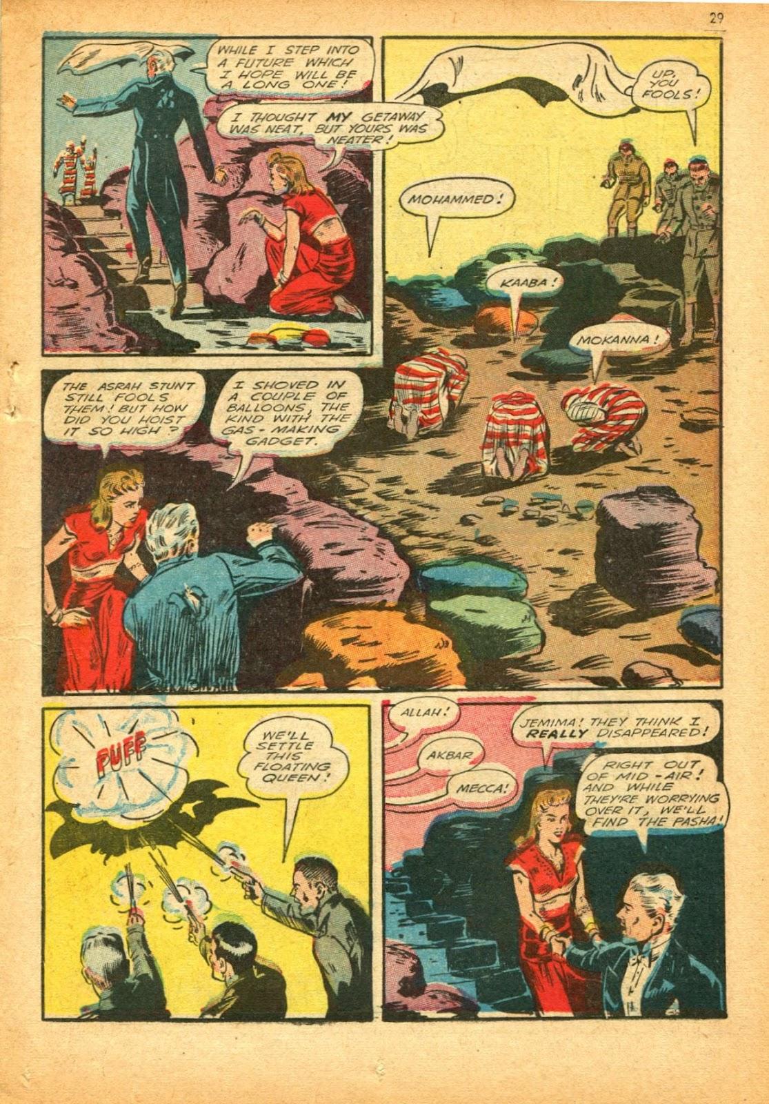 Read online Super-Magician Comics comic -  Issue #12 - 29