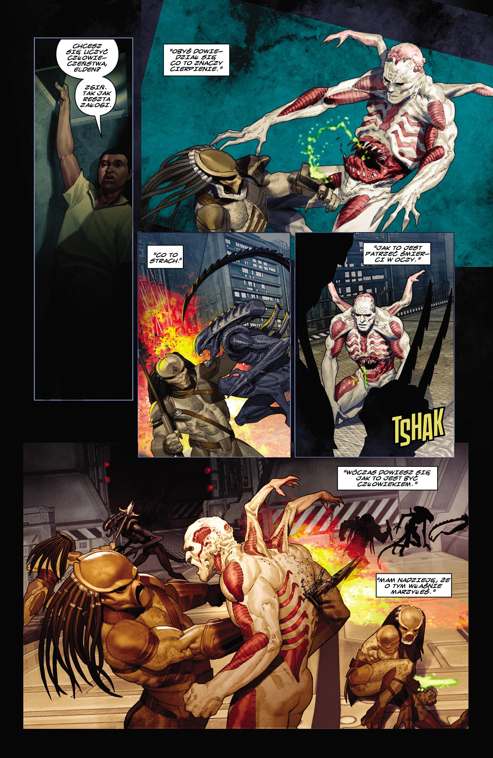 Read online Alien vs. Predator: Fire and Stone comic -  Issue #2 - 7