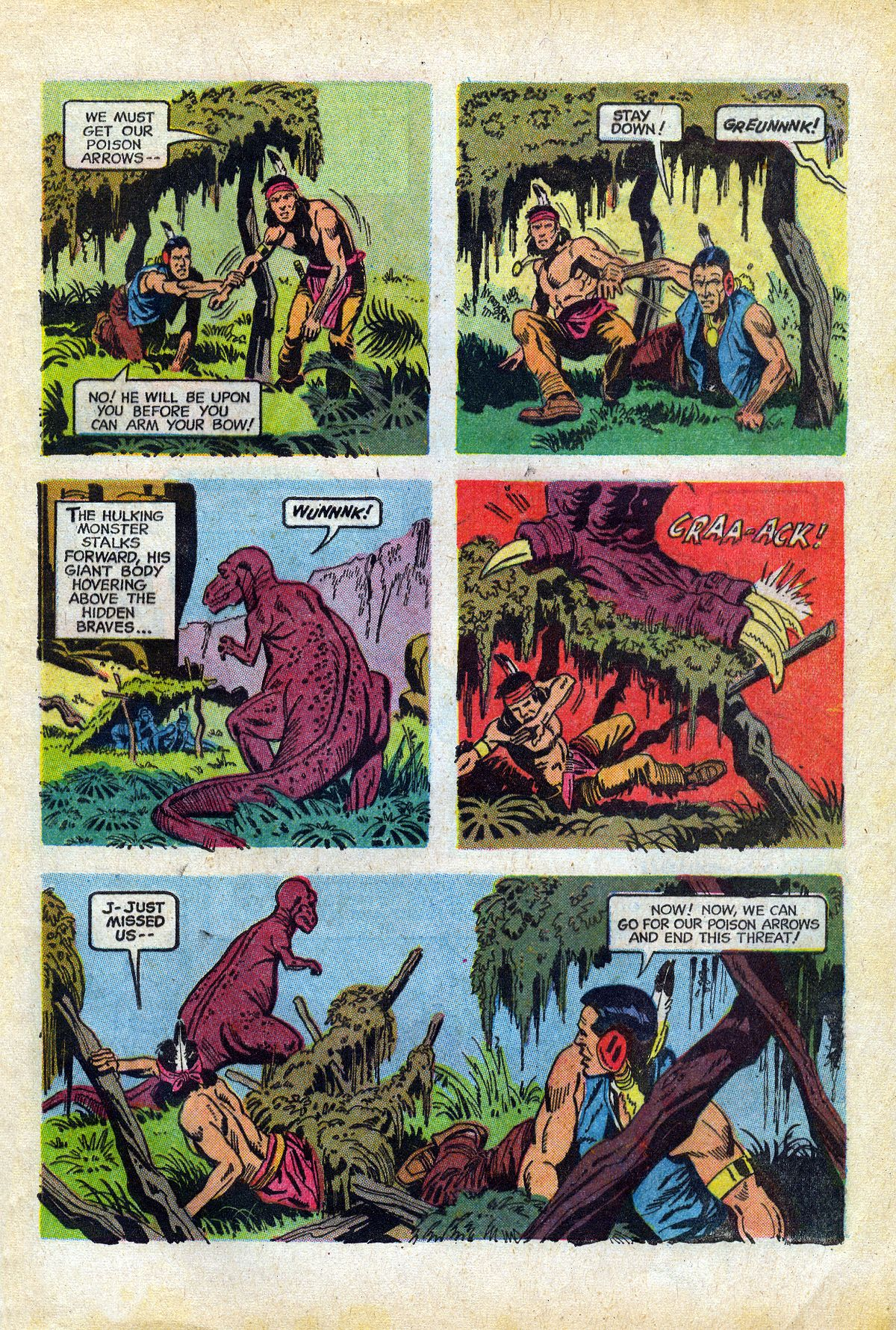 Read online Turok, Son of Stone comic -  Issue #66 - 5