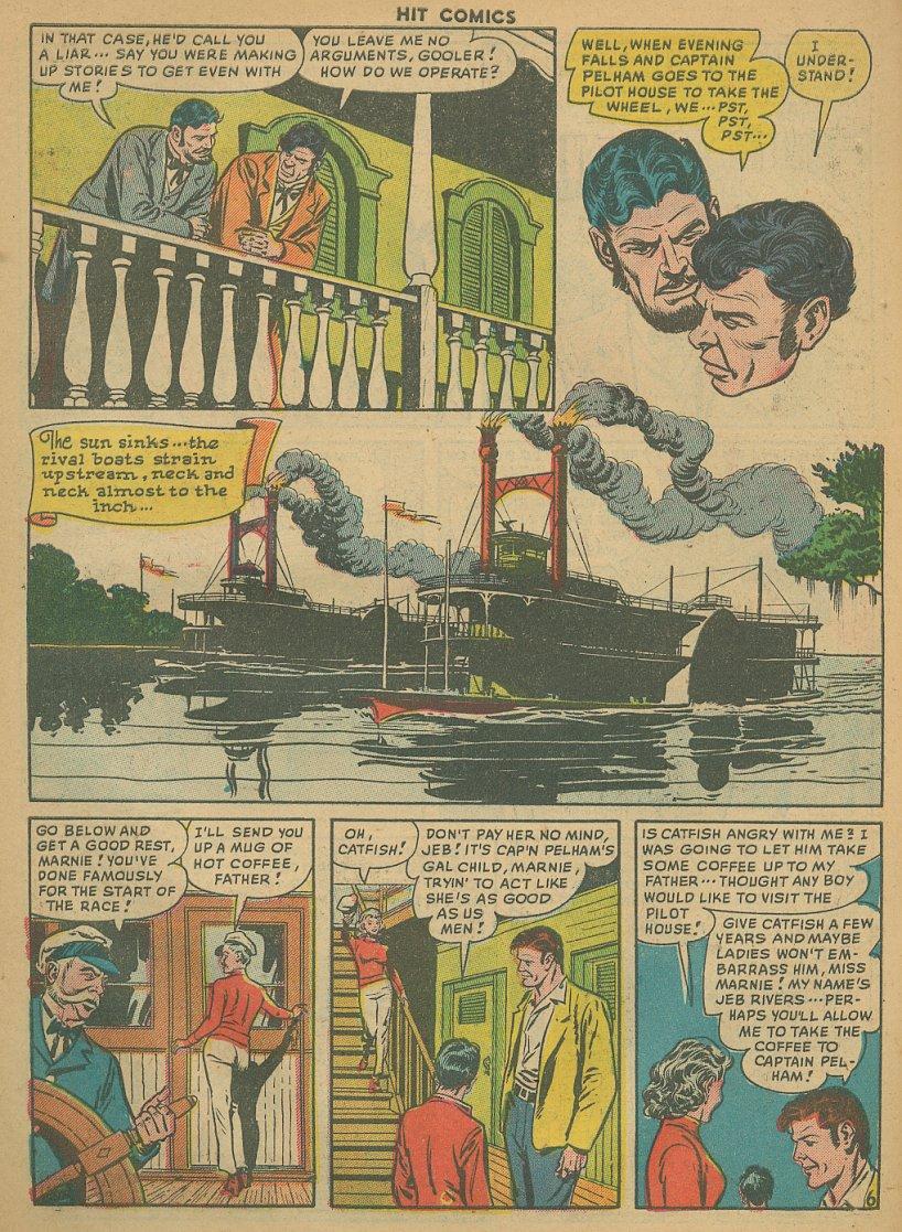 Read online Hit Comics comic -  Issue #61 - 8