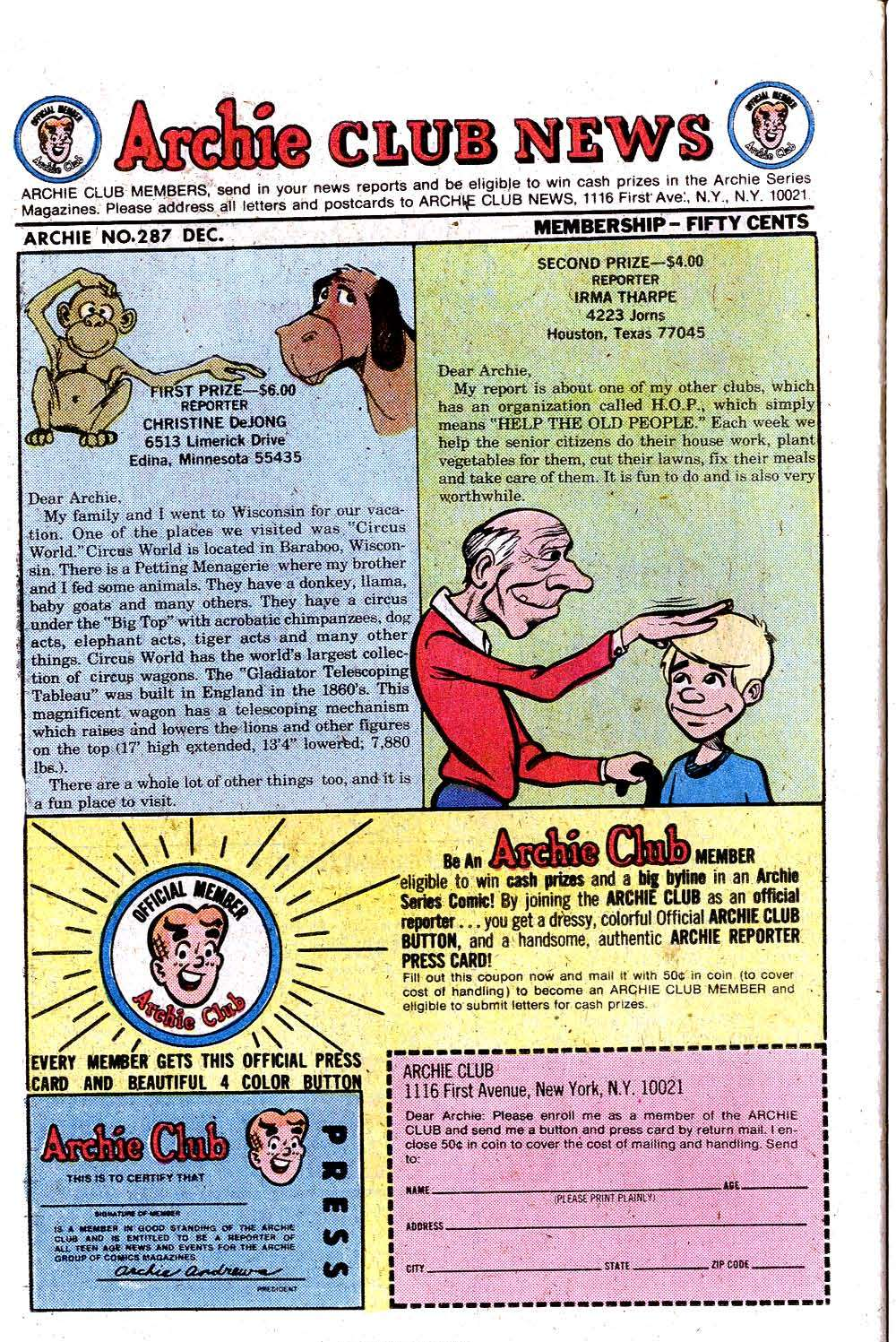 Read online Archie (1960) comic -  Issue #287 - 26
