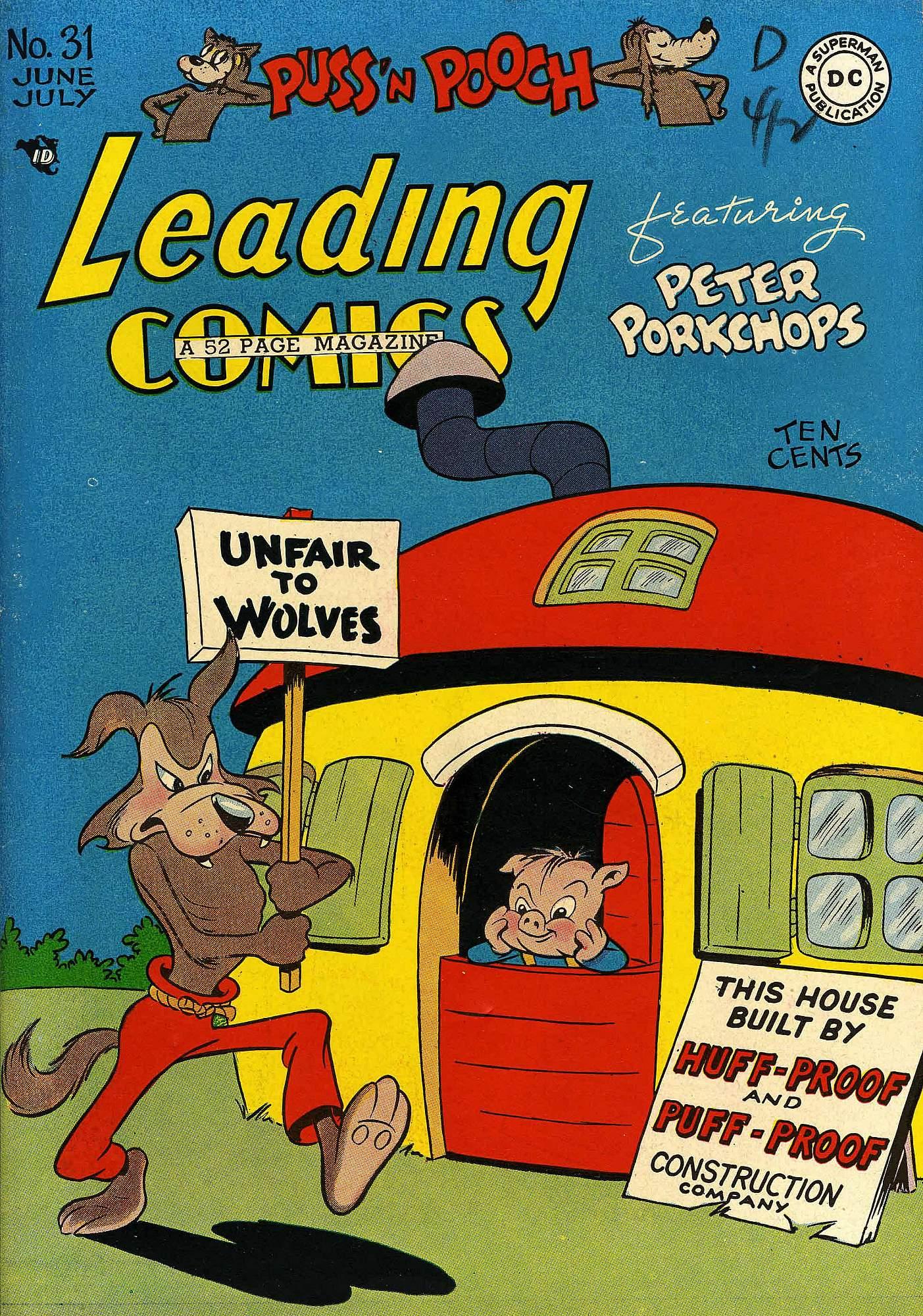 Leading Comics 31 Page 1