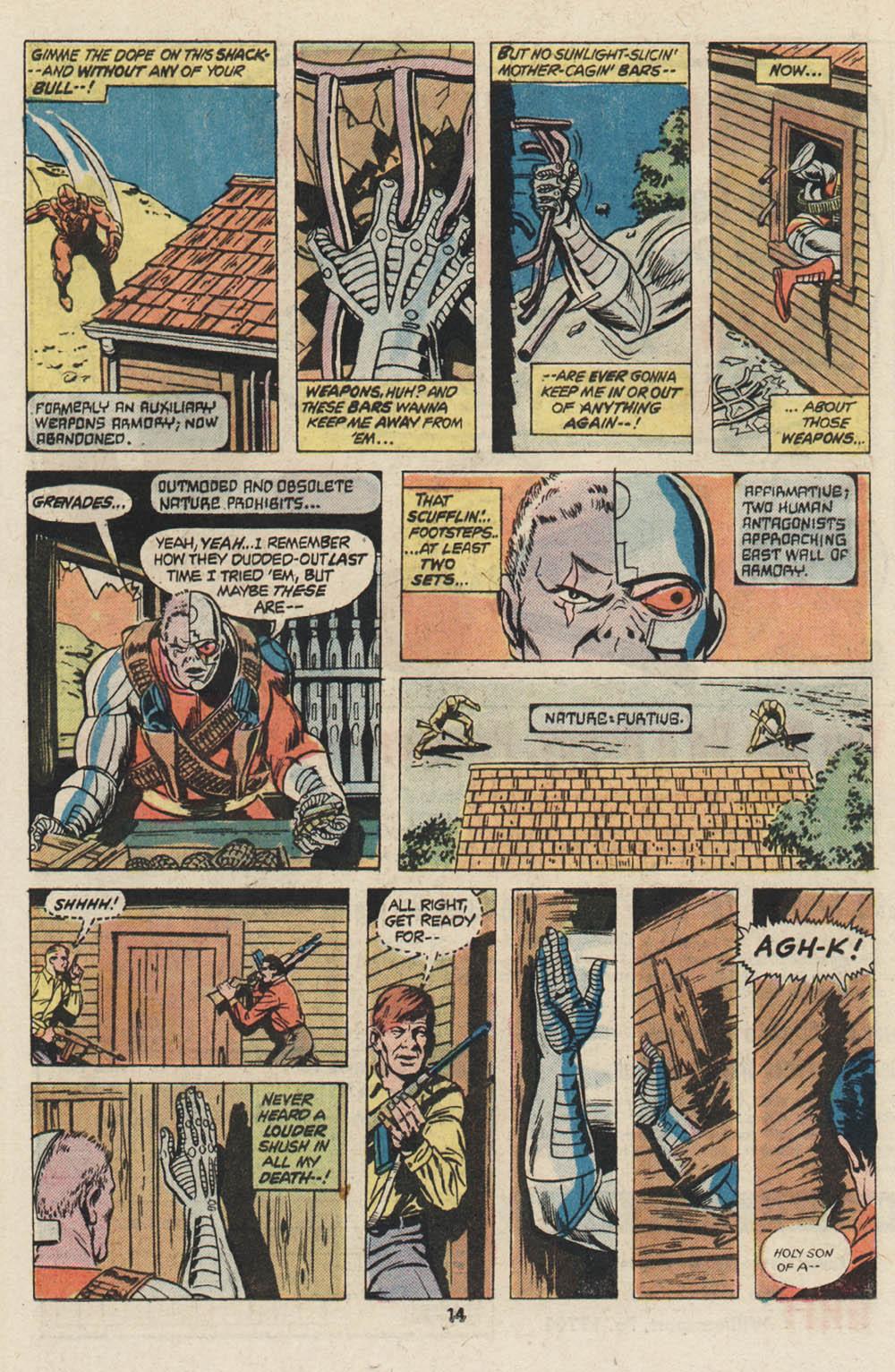 Read online Astonishing Tales (1970) comic -  Issue #30 - 9