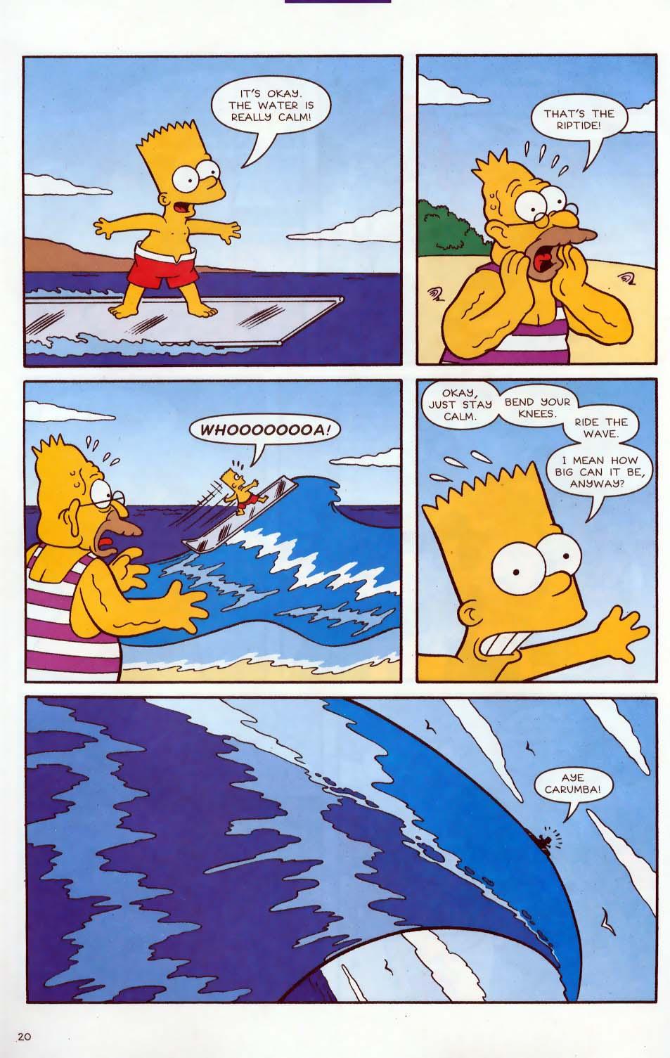 Read online Simpsons Comics comic -  Issue #86 - 21