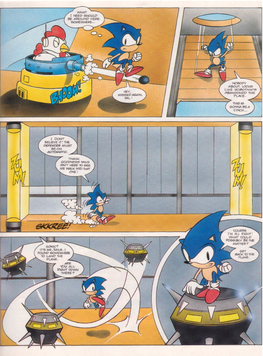 Read online Sonic the Comic comic -  Issue #6 - 5