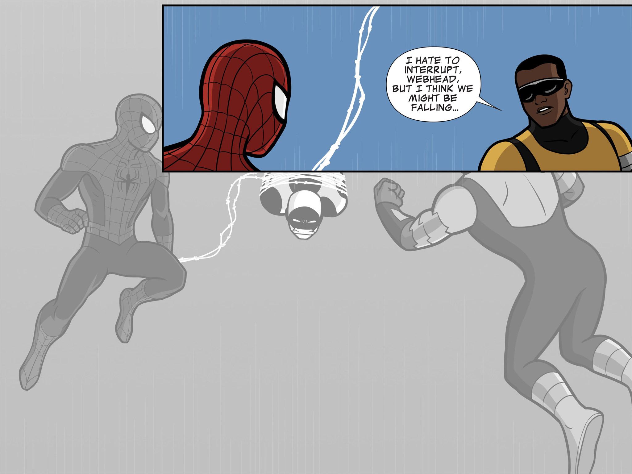 Read online Ultimate Spider-Man (Infinite Comics) (2015) comic -  Issue #11 - 12