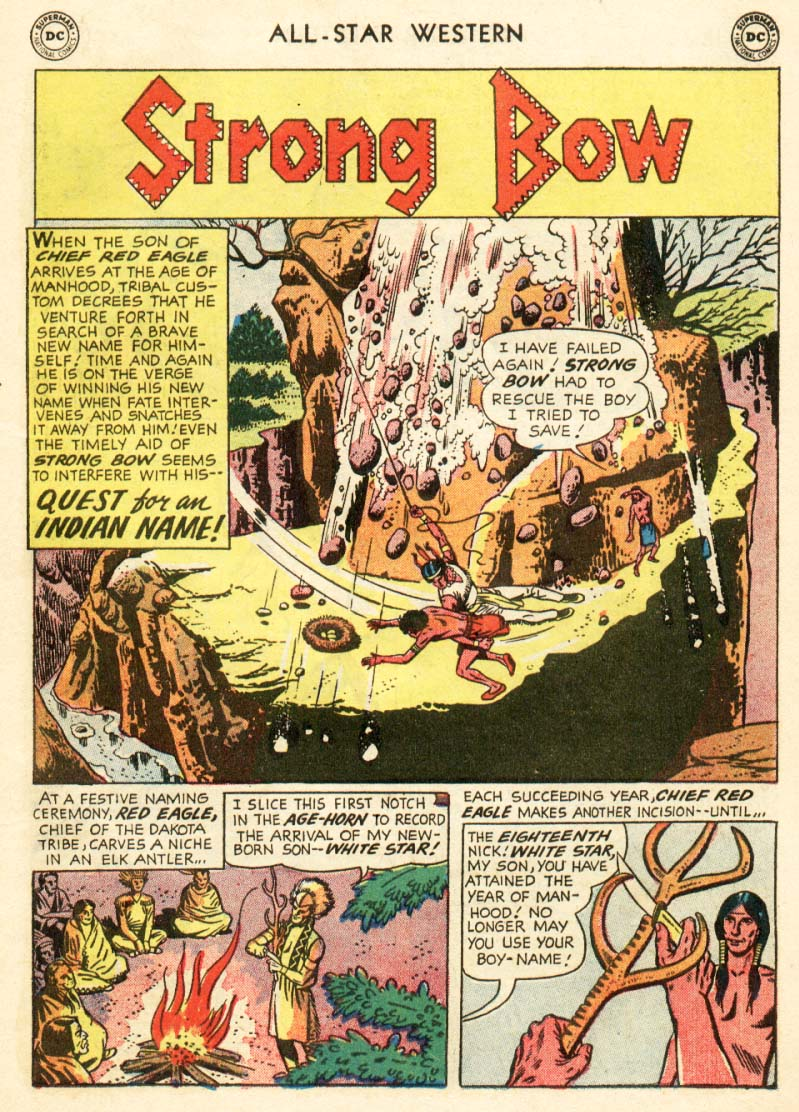 Read online All-Star Western (1951) comic -  Issue #97 - 9