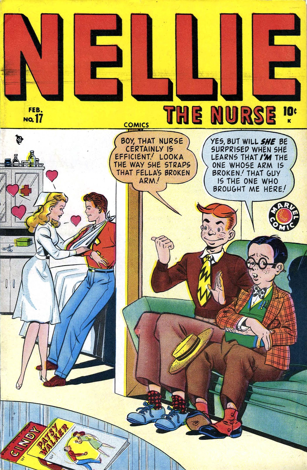 Read online Nellie The Nurse (1945) comic -  Issue #17 - 1