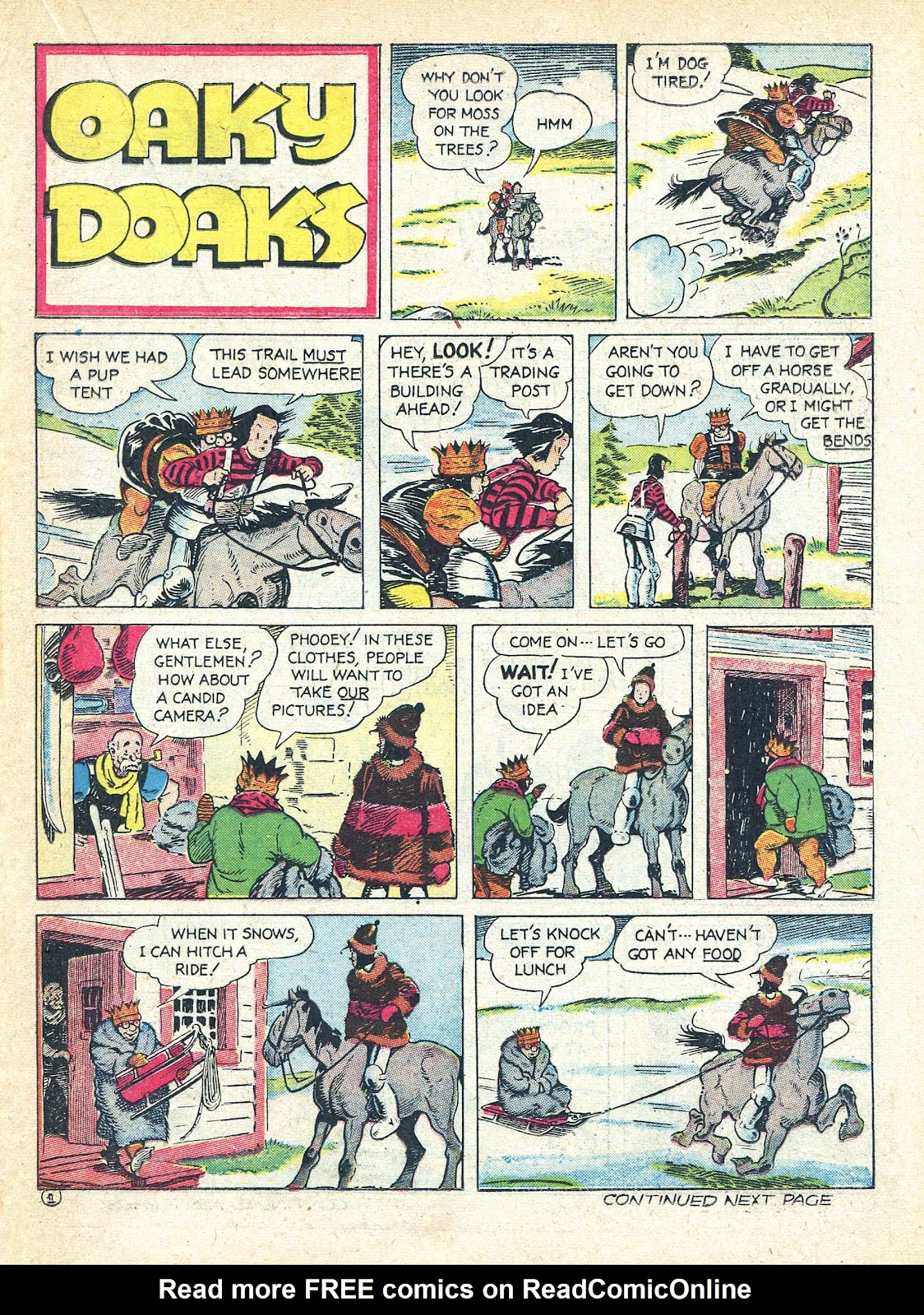 Read online Famous Funnies comic -  Issue #95 - 42