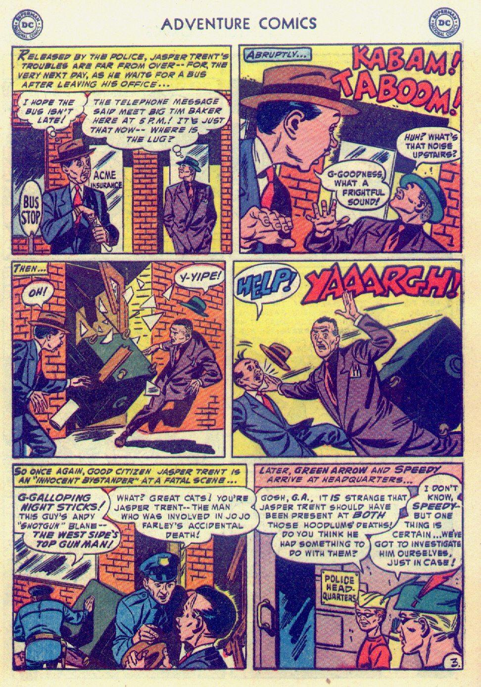 Read online Adventure Comics (1938) comic -  Issue #201 - 36